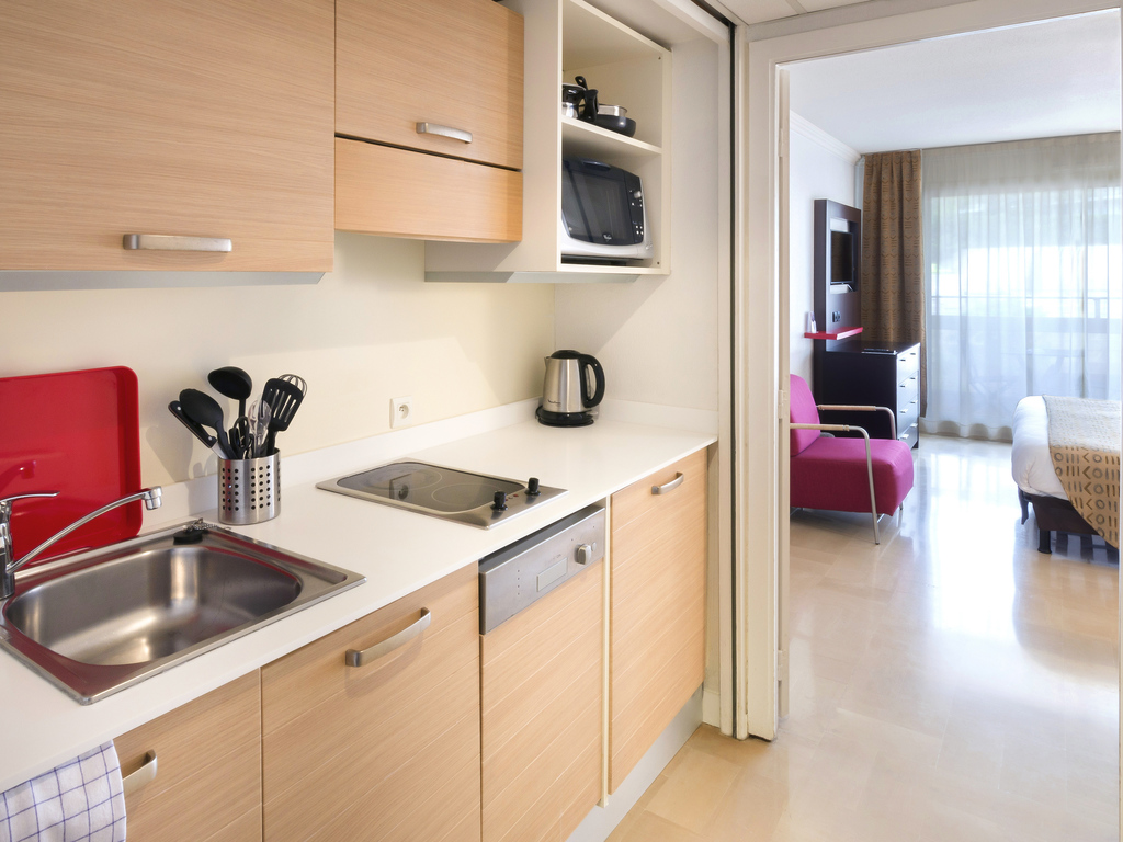 Apartment with 1 bedroom for 4 people, view of the town