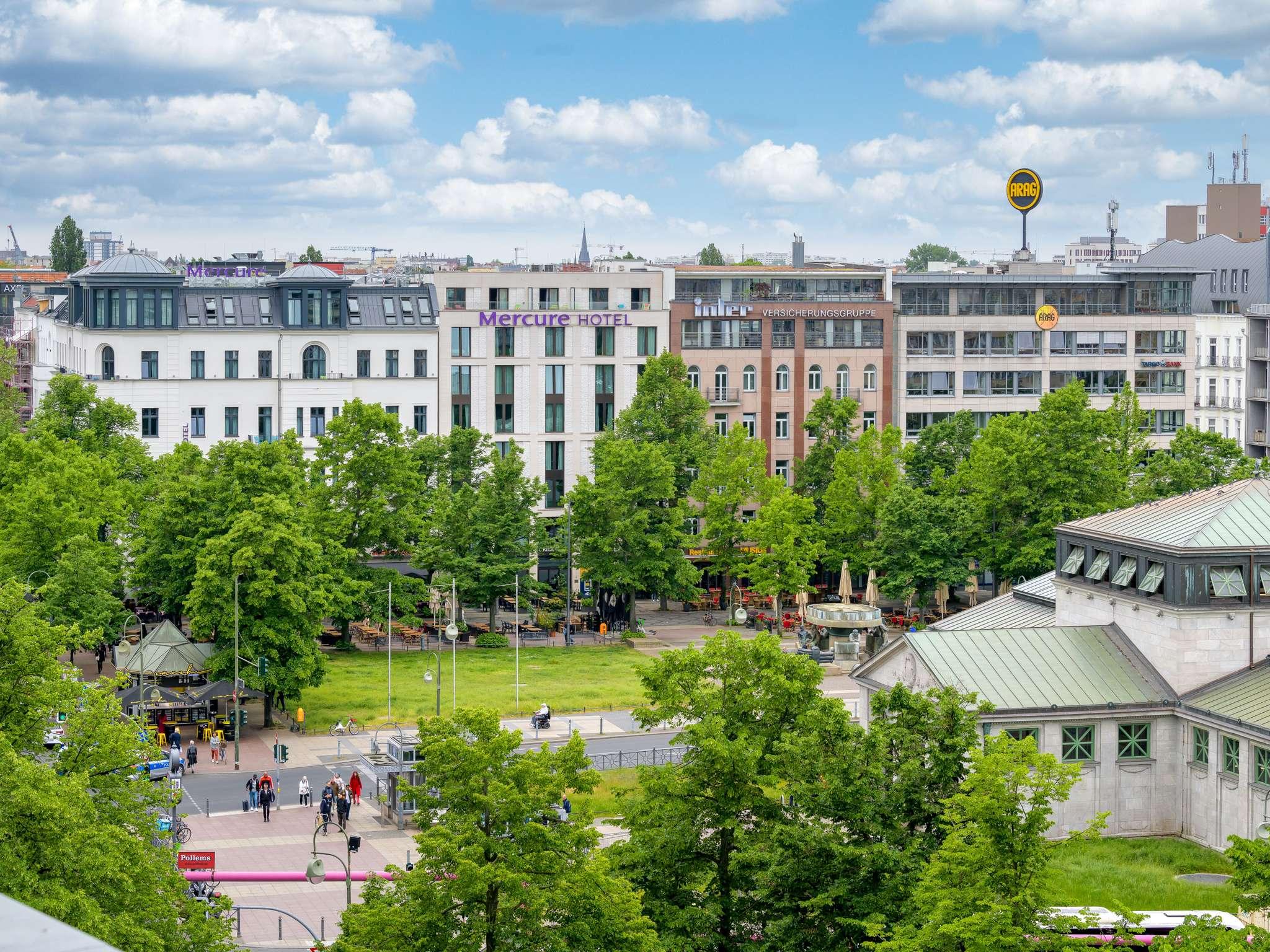 โรงแรม – Mercure Hotel Berlin Wittenbergplatz