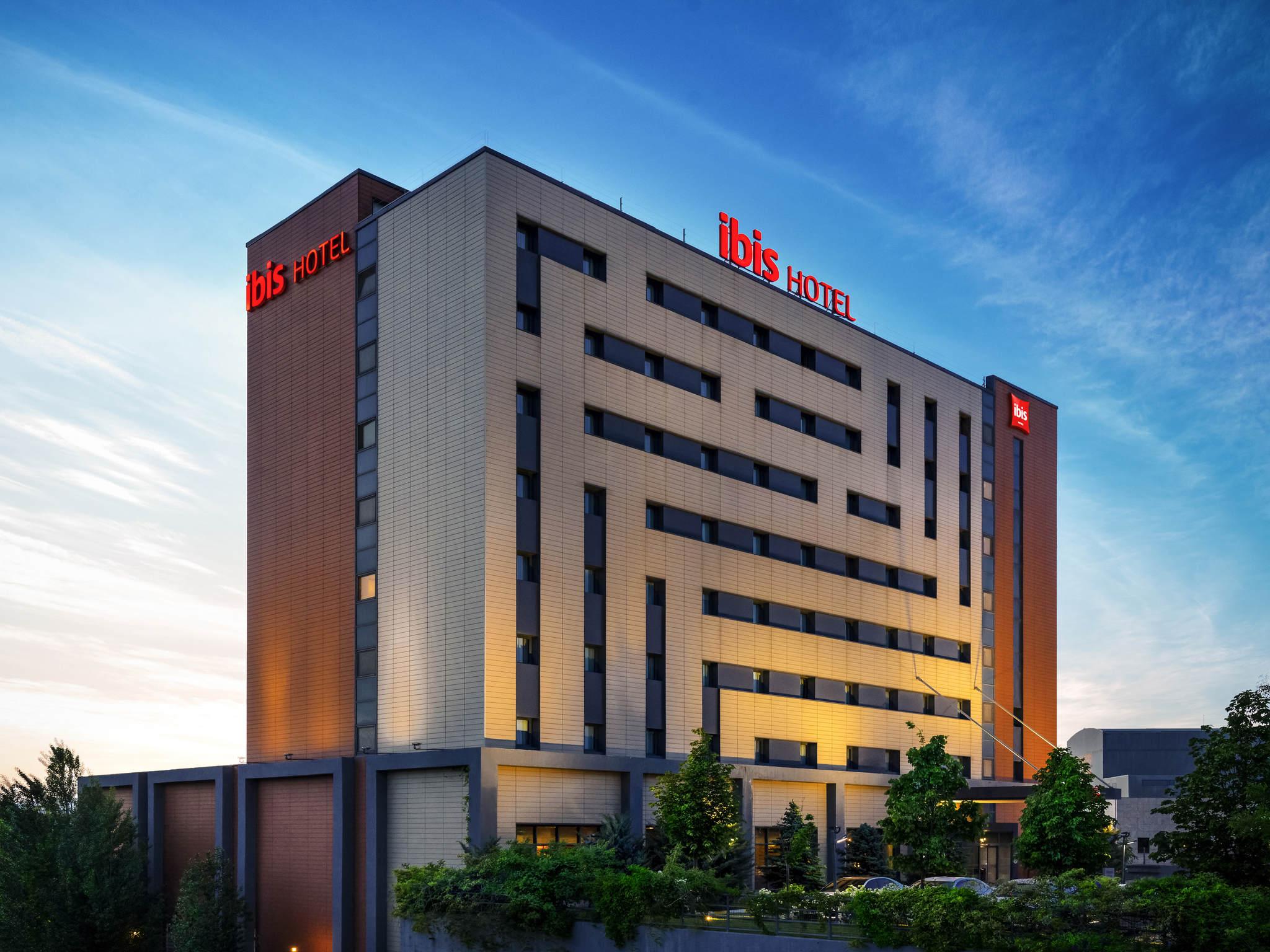 Отель — ibis Ankara Airport