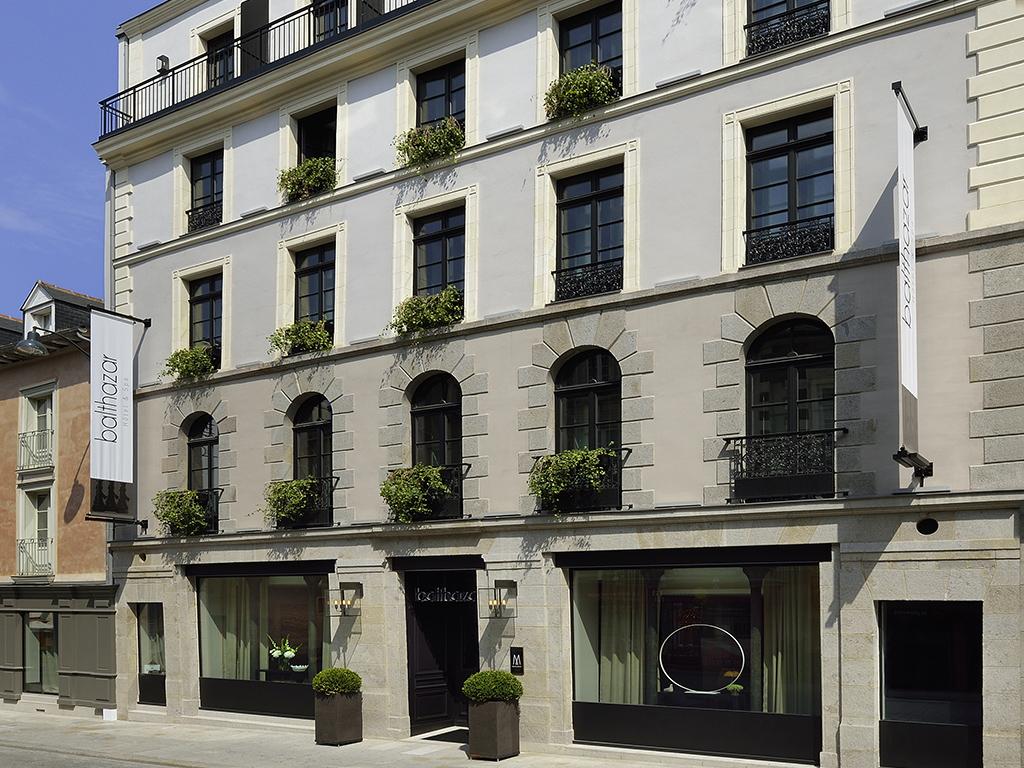Luxury hotel rennes balthazar h tel spa rennes for Rennes boutique hotel