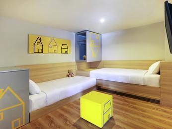 Hotel bandung pesan kamar anda di hotel ibis styles for Dekor kamar hotel di bandung