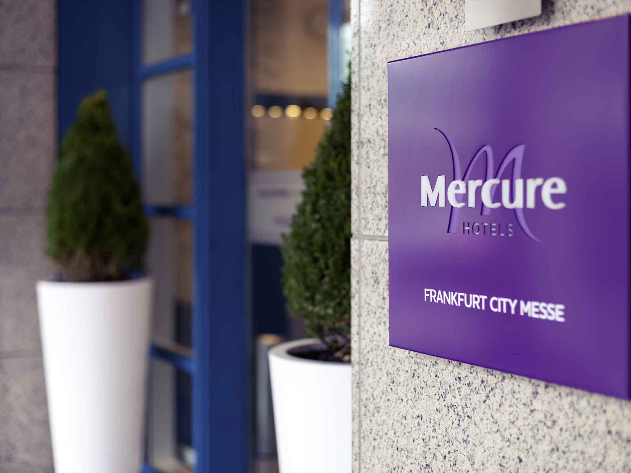 Отель — Mercure Франкфурт Сити Мессе
