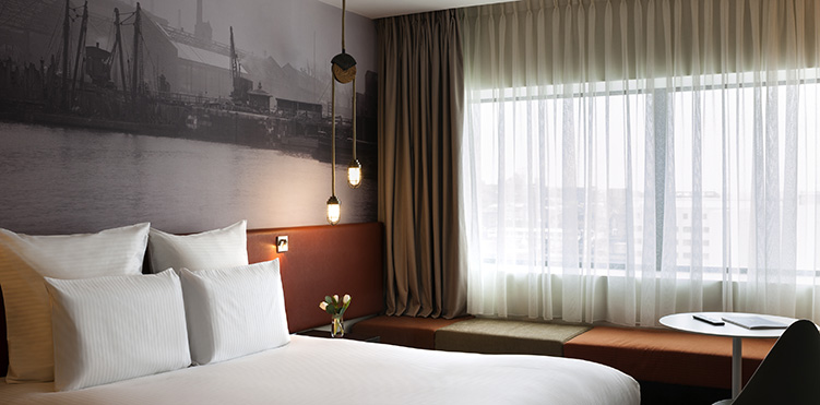 The hotel's rooms Pullman Liverpool