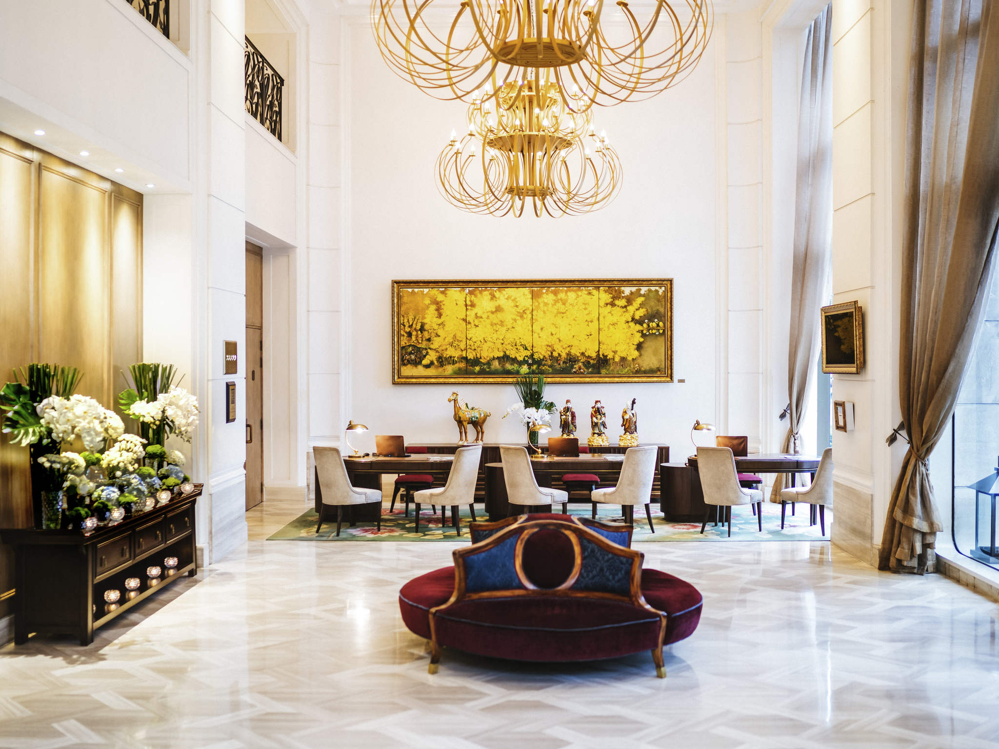 Отель — Отель Де Арт Сайгон - MGallery Collection