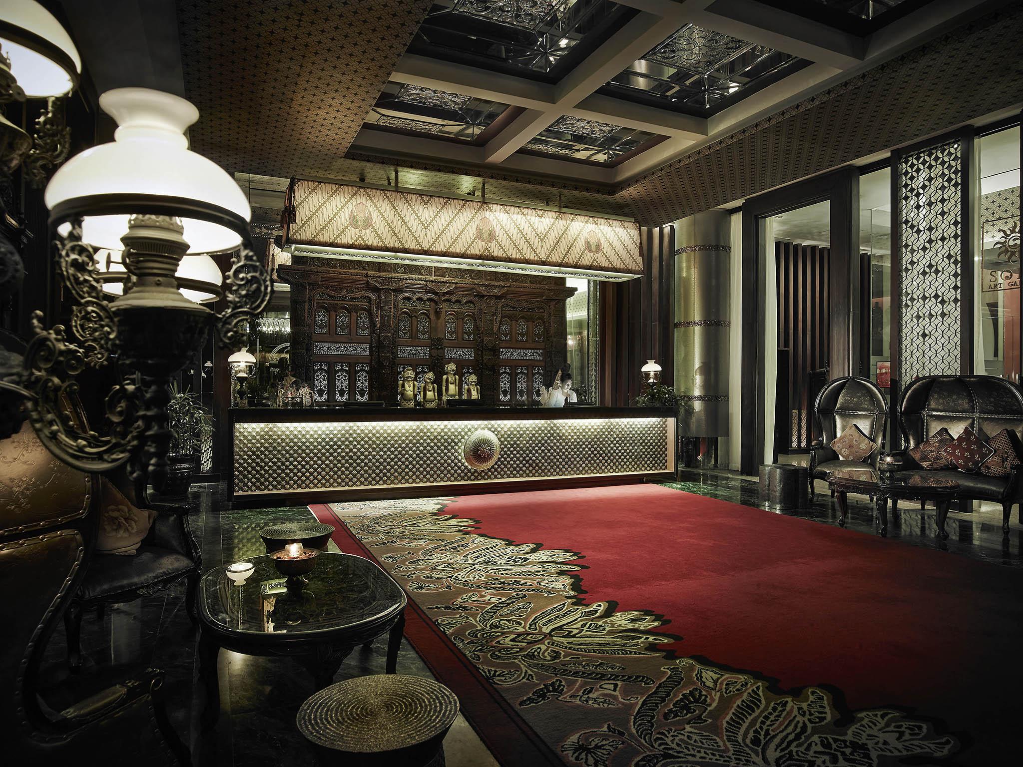 Отель — Роял Суракарта Херитэдж Соло - MGallery by Sofitel