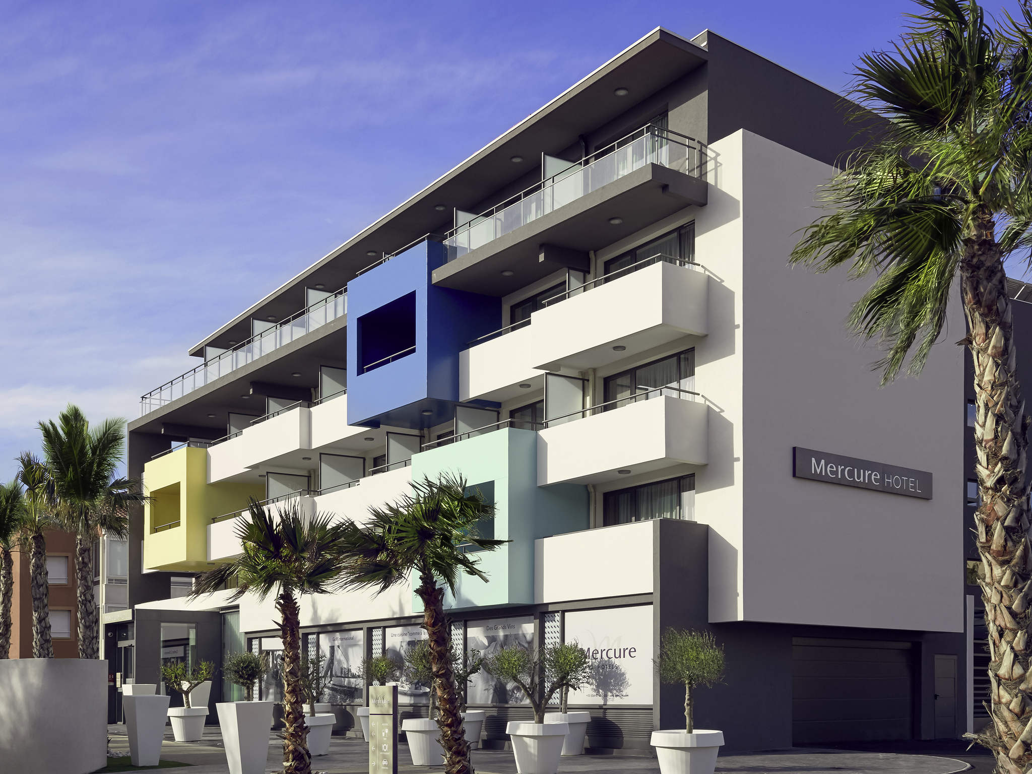 Отель — Hôtel Mercure Golf Cap d'Agde