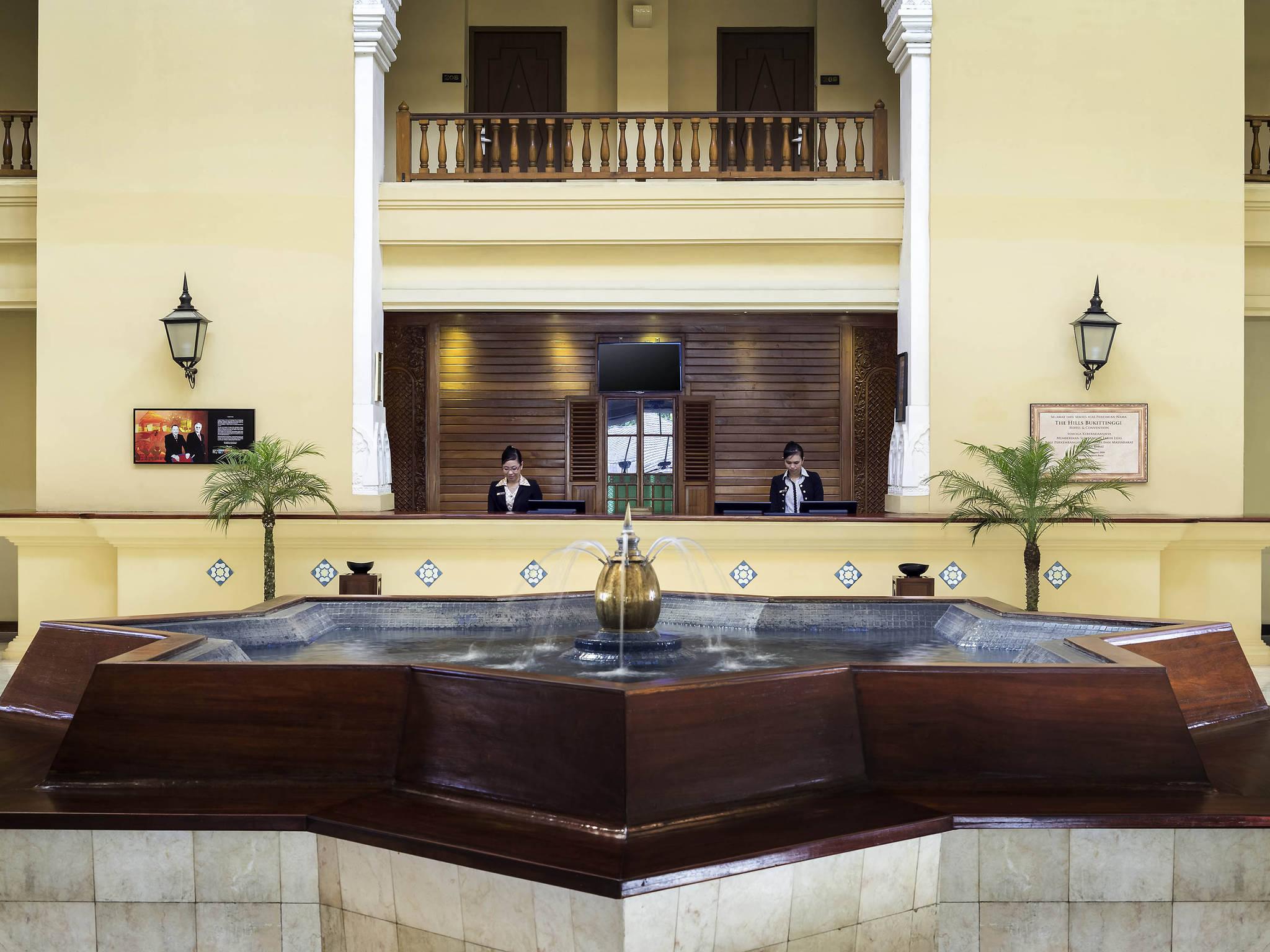 โรงแรม – Novotel Bukittinggi