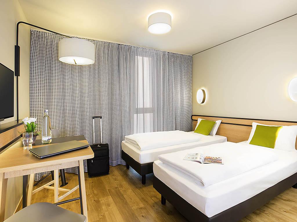 Studio pour 2 pers. avec lits jumeaux
