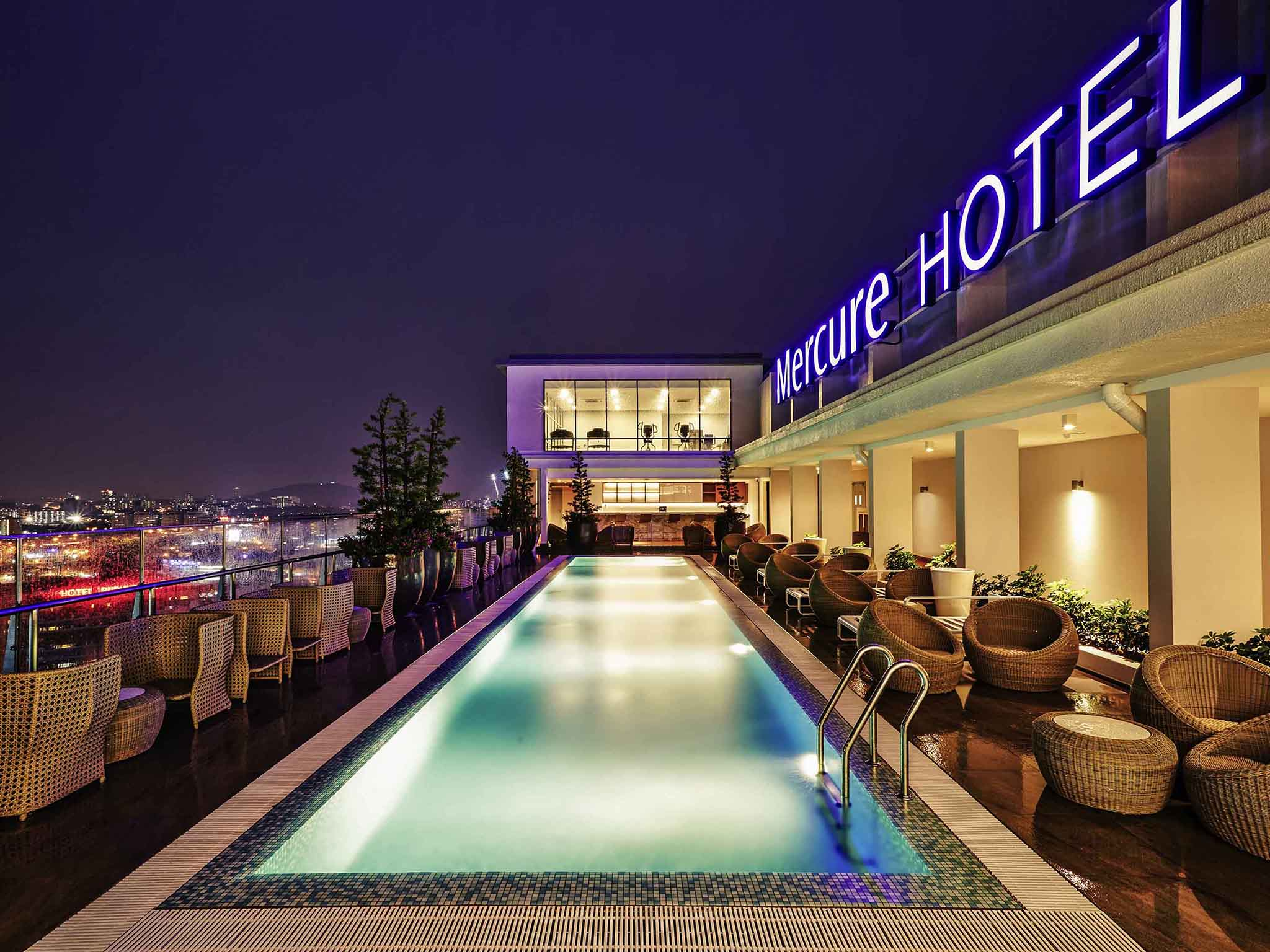 Отель — Mercure Куала-Лумпур Шо Парад
