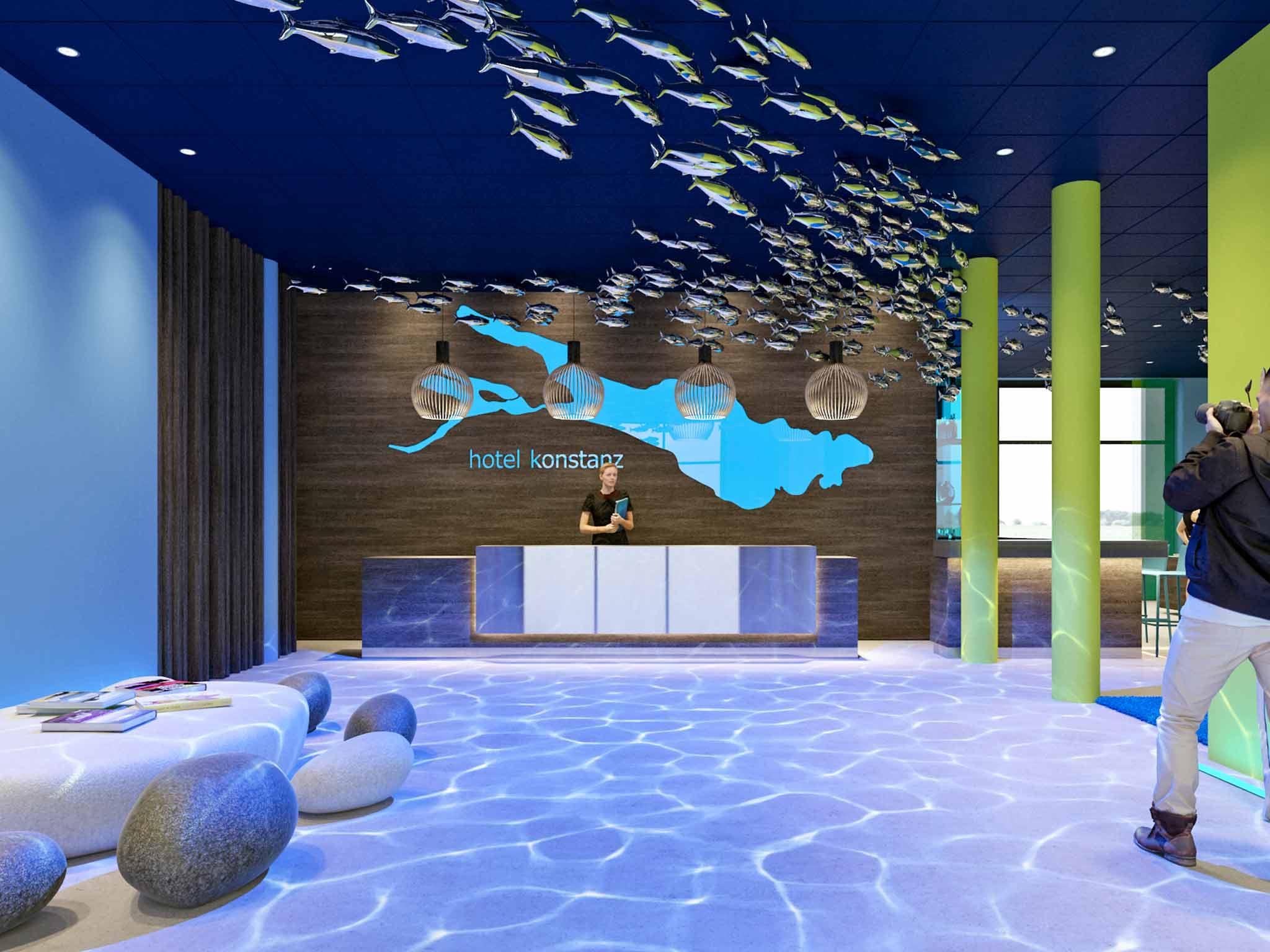 ibis Styles Hotel Konstanz: übernachten am Bodensee