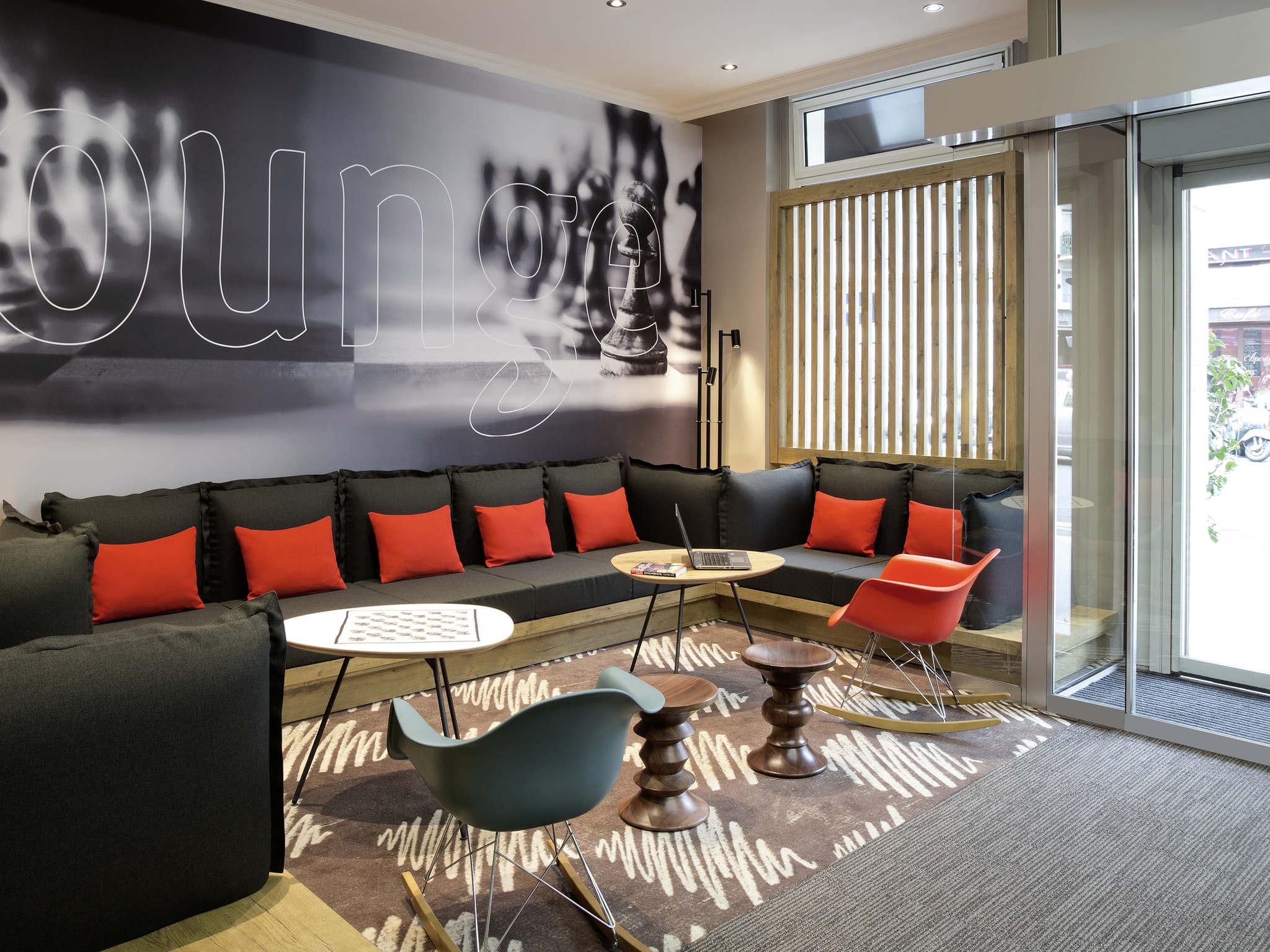 Отель — ibis Париж Северный Вокзал