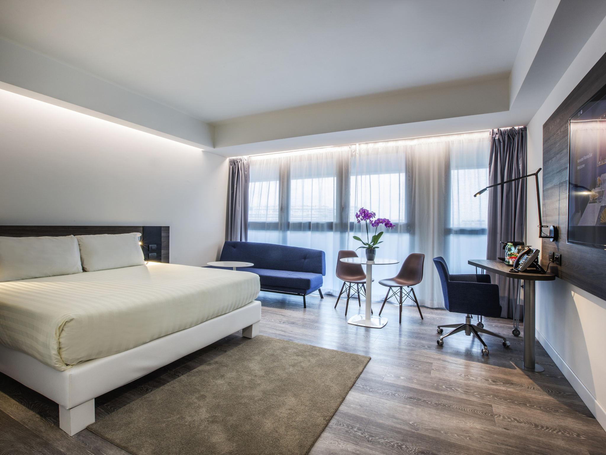 Amazing rooms novotel roma eur with interior designer roma - Interior designer roma ...