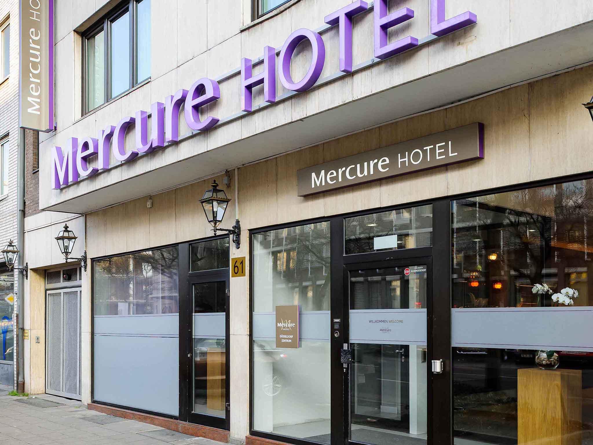Отель — Mercure Дюссельдорф Центр