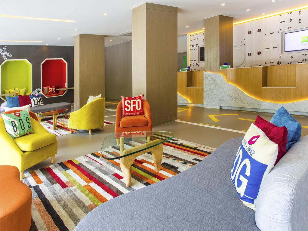 酒店 – 宜必思尚品曼谷素坤逸 50 酒店