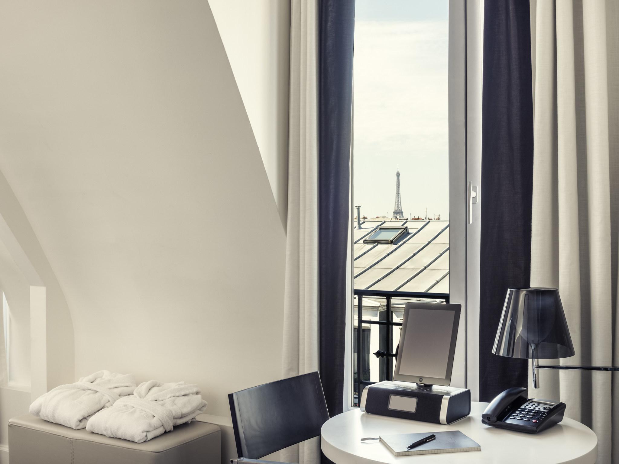 โรงแรม – โรงแรมเมอร์เคียว ปารีส แซงต์ ลาซาร์ มงโซ