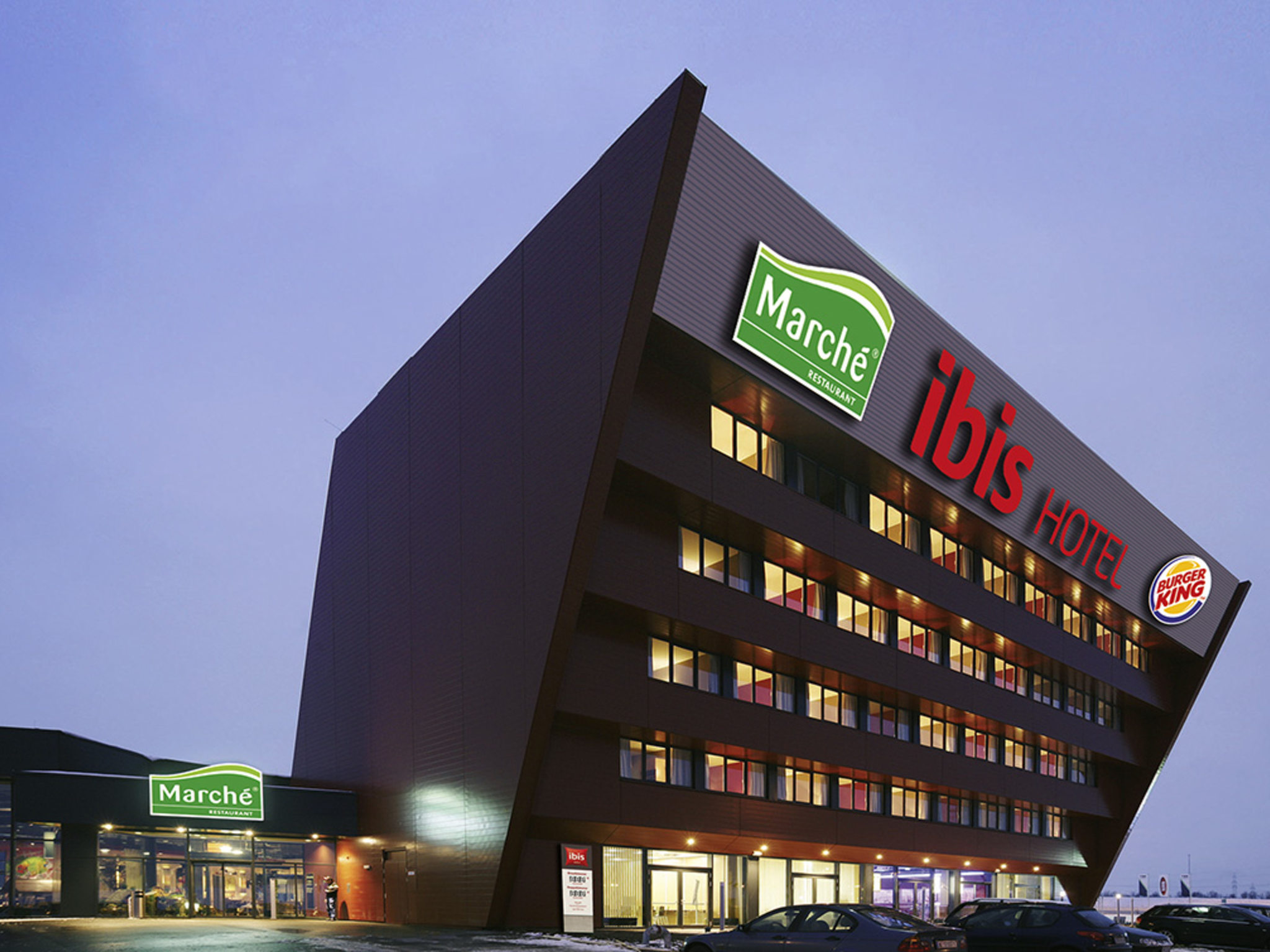 Отель — ibis Vienna Airport