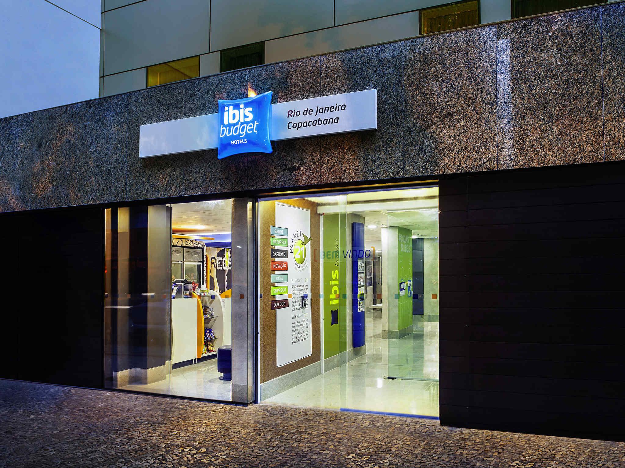 Отель — ibis budget Рио-де-Жанейро Копакабана