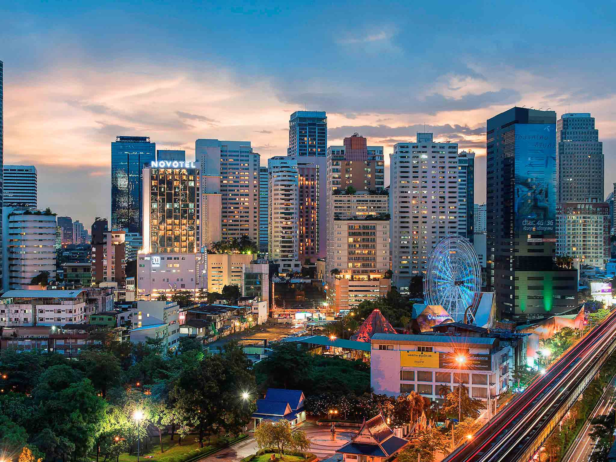 酒店 – 曼谷素坤逸 20 诺富特酒店