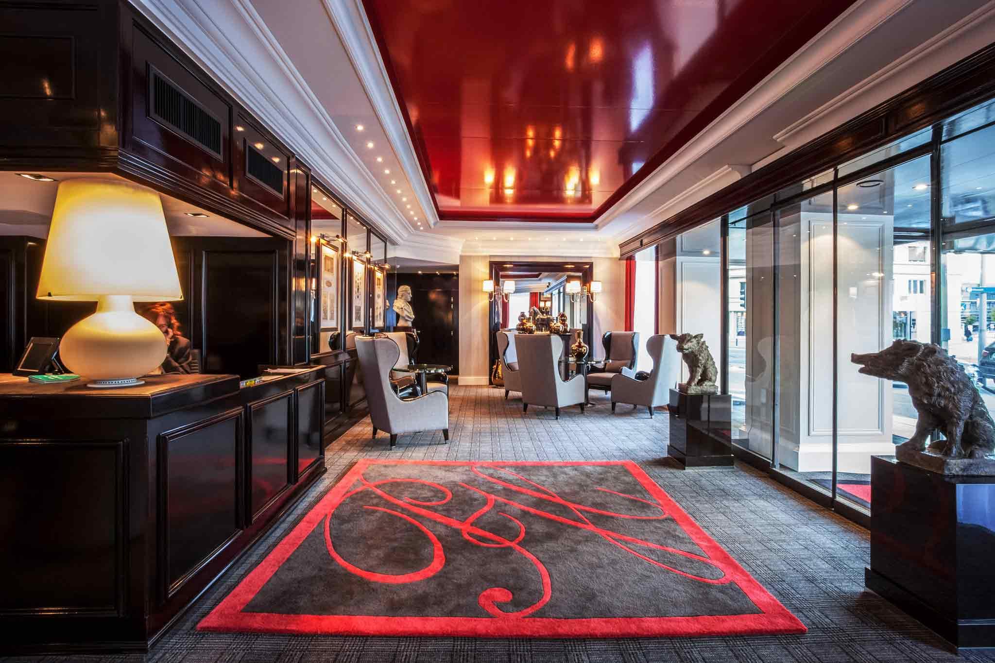 Отель — Отель Парк Гренобль - MGallery by Sofitel