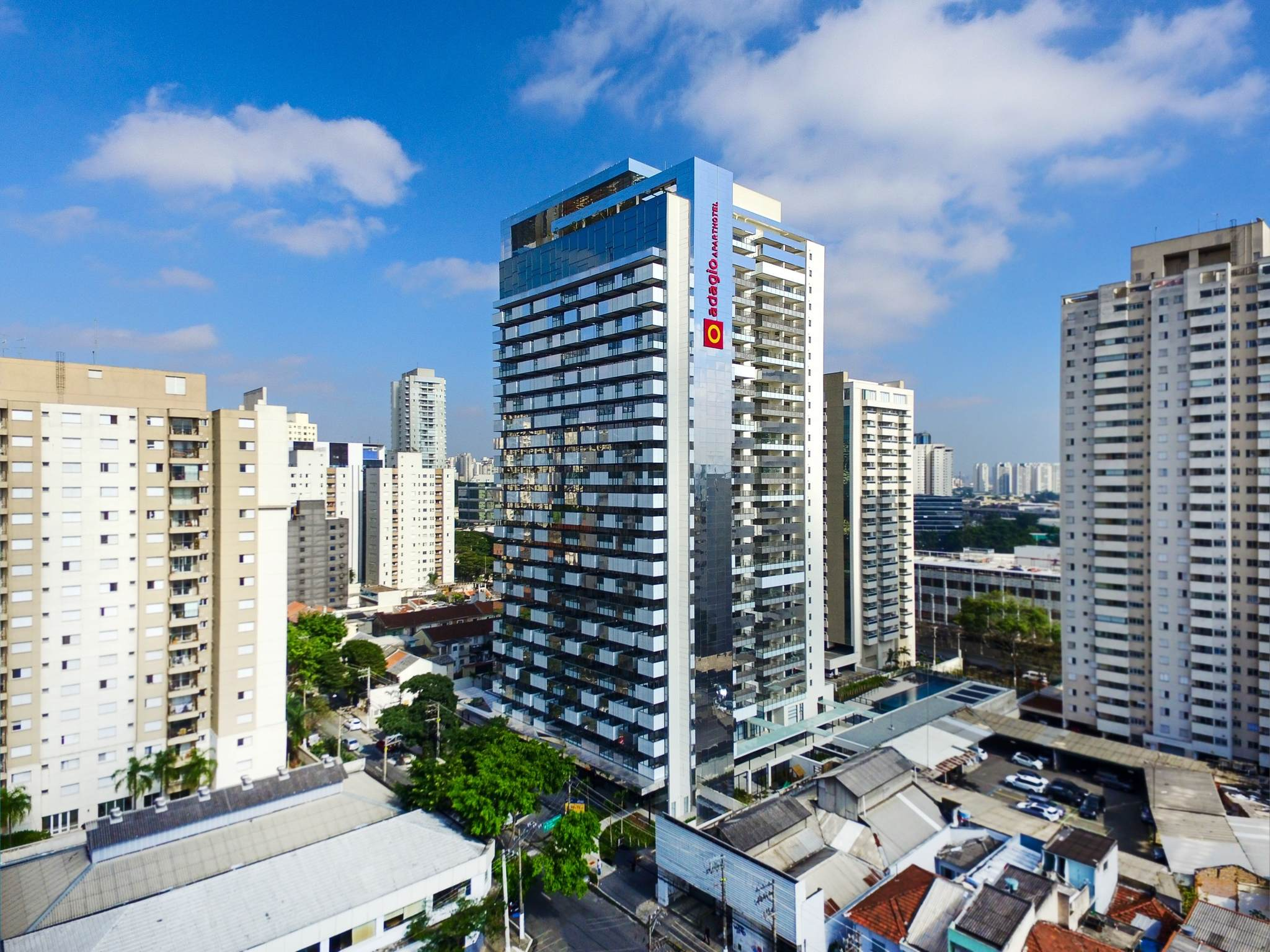 Hotel – Hotel de apartamentos Adagio São Paulo Barra Funda