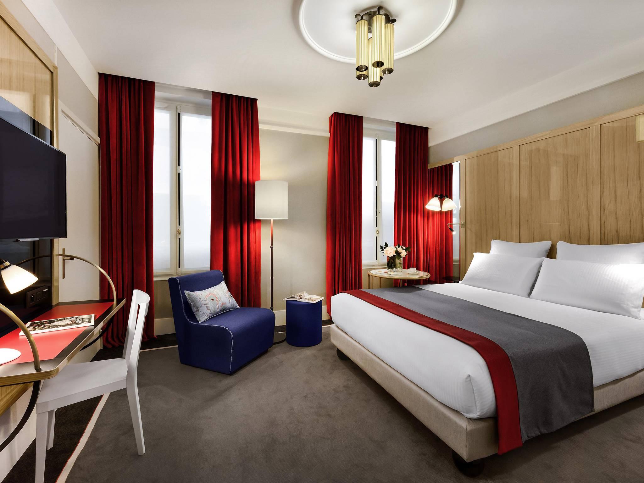 โรงแรม – เลชิกิเย่ โอเปร่า ปารีส - เอ็มแกลเลอรี บาย โซฟิเทล โฮเทล