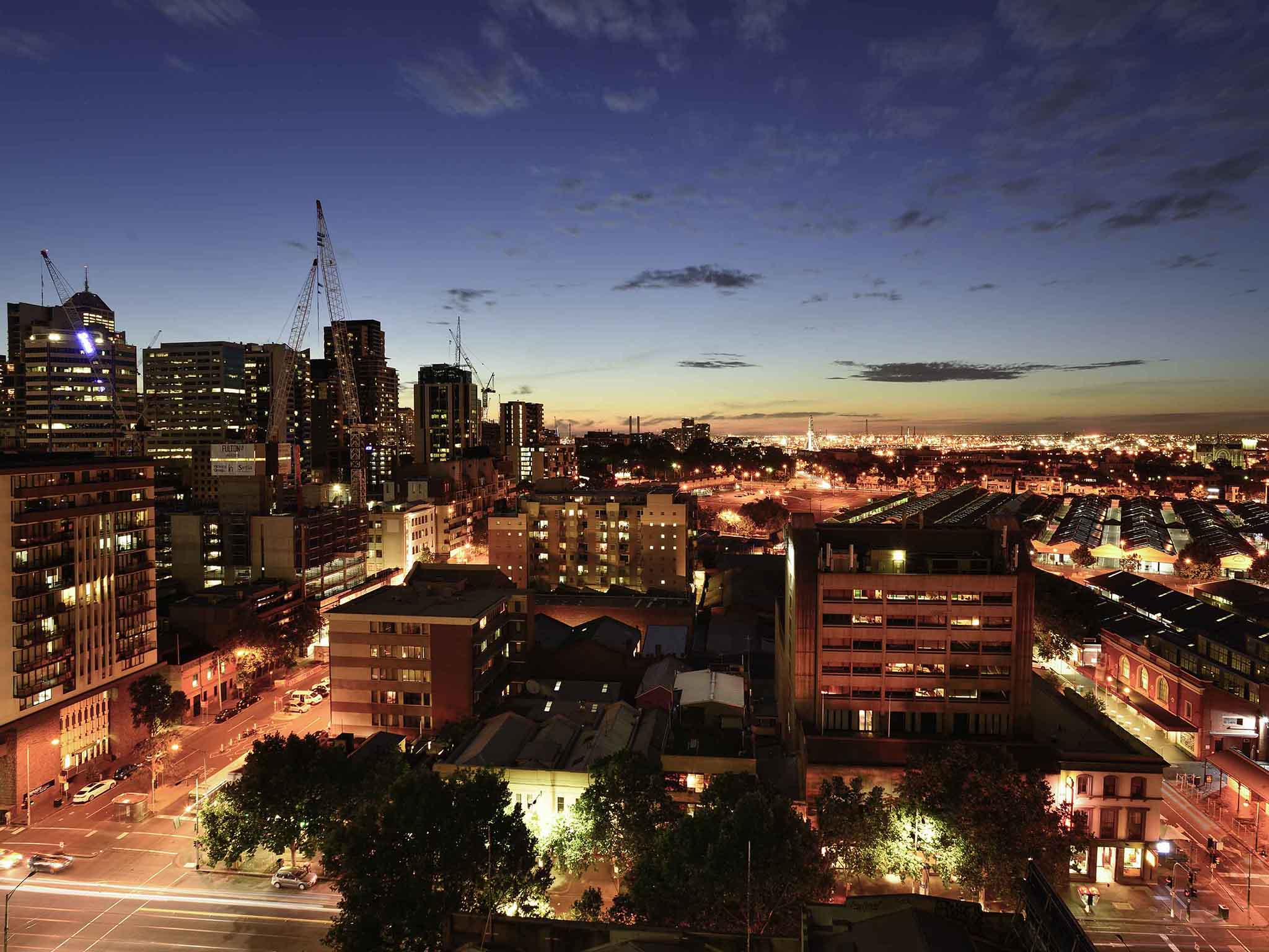 Hotell – Mercure Melbourne Therry Street