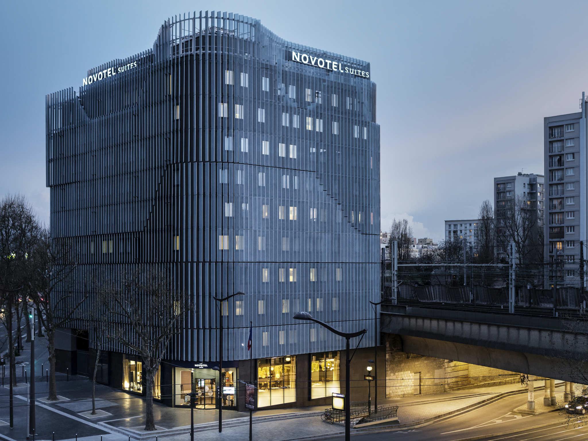Отель — Novotel Suites Париж Экспо Порт-де-Версаль
