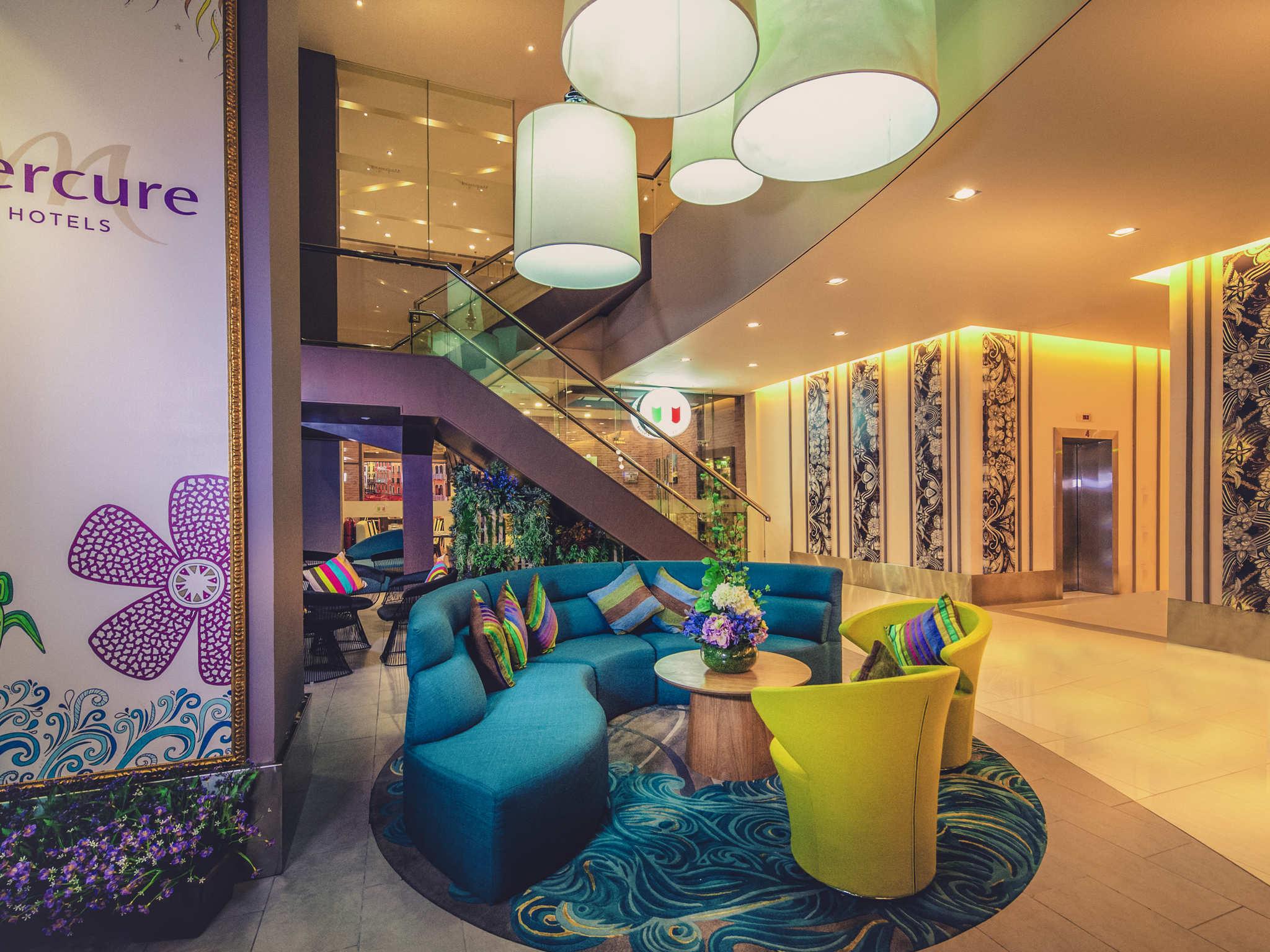 ホテル – メルキュール コタ キナバル シティ センター