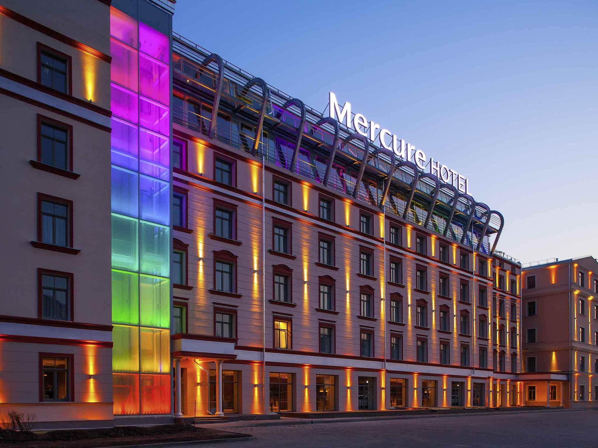 Отель — Mercure Рига Центр