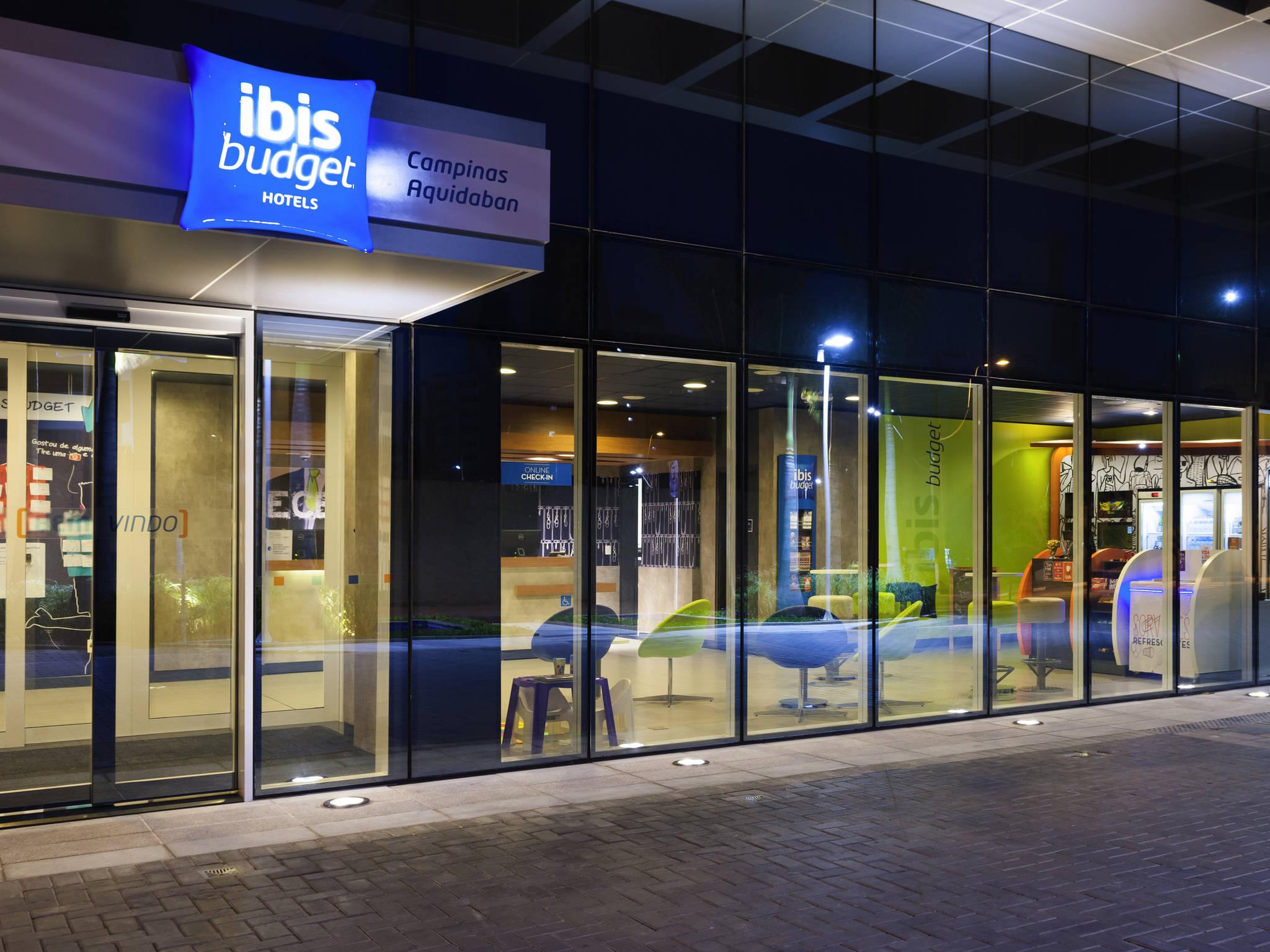 Hotel – ibis budget Campinas Aquidaban
