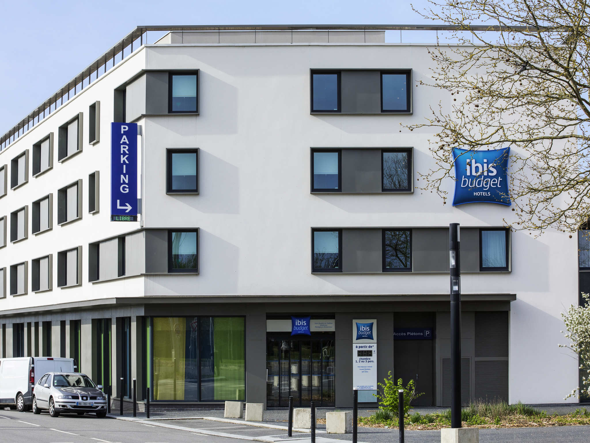 Отель — ibis budget Saint-Quentin-en-Yvelines Vélodrome