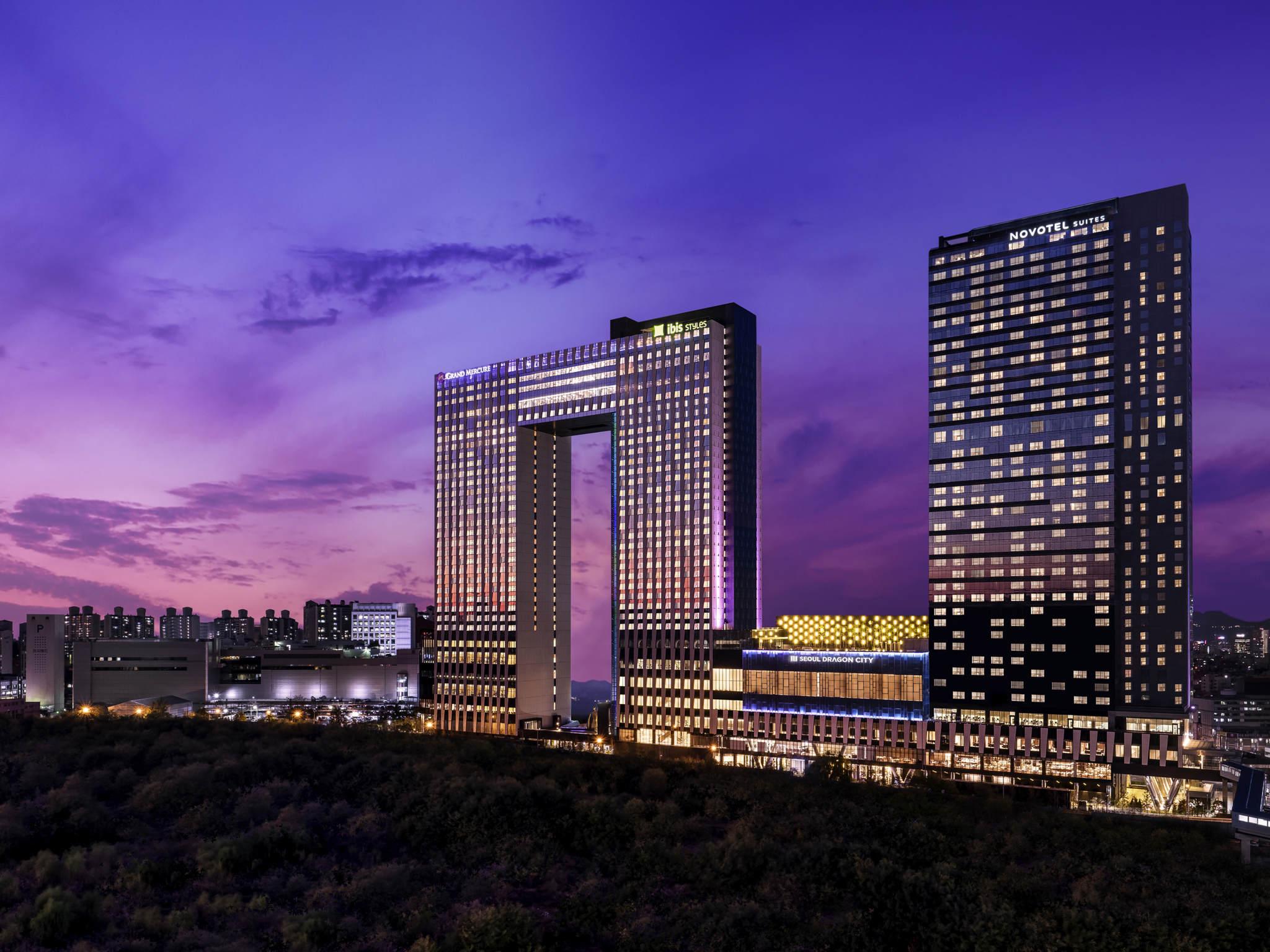Hotell – Novotel Ambassador Seoul Yongsan - Seoul Dragon City