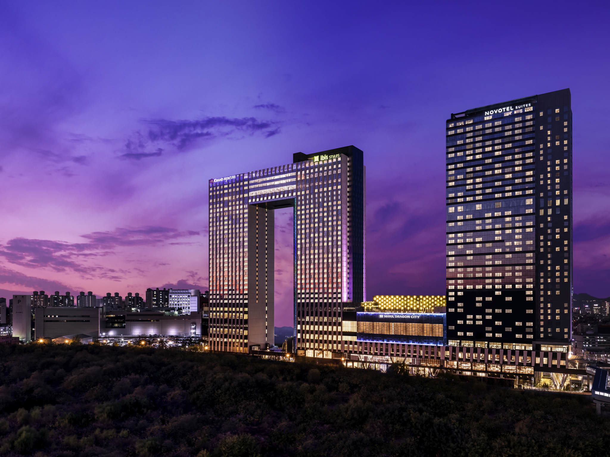 Hôtel - Novotel Ambassador Seoul Yongsan - Seoul Dragon City
