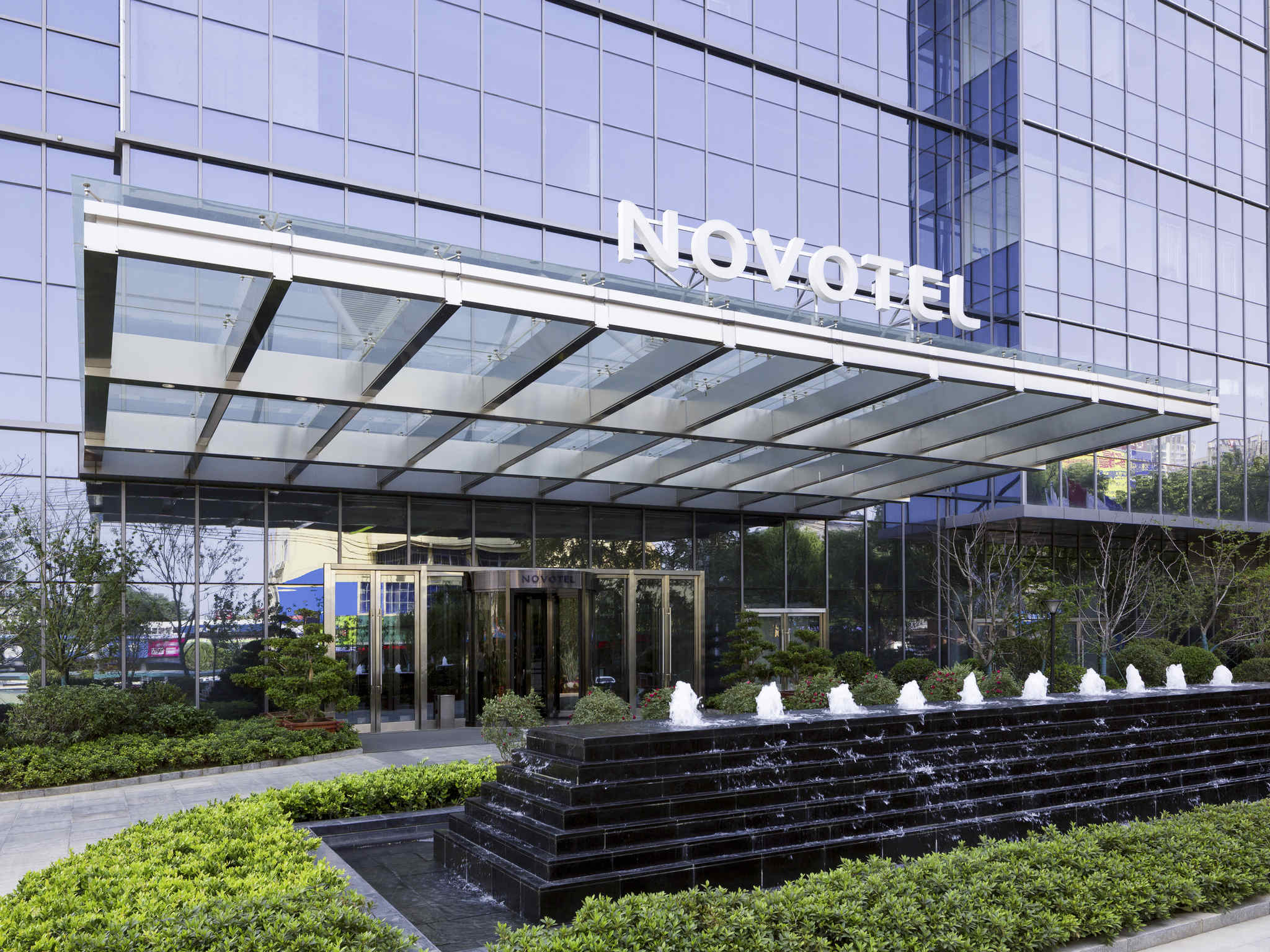 Hotell – Novotel Rizhao Suning