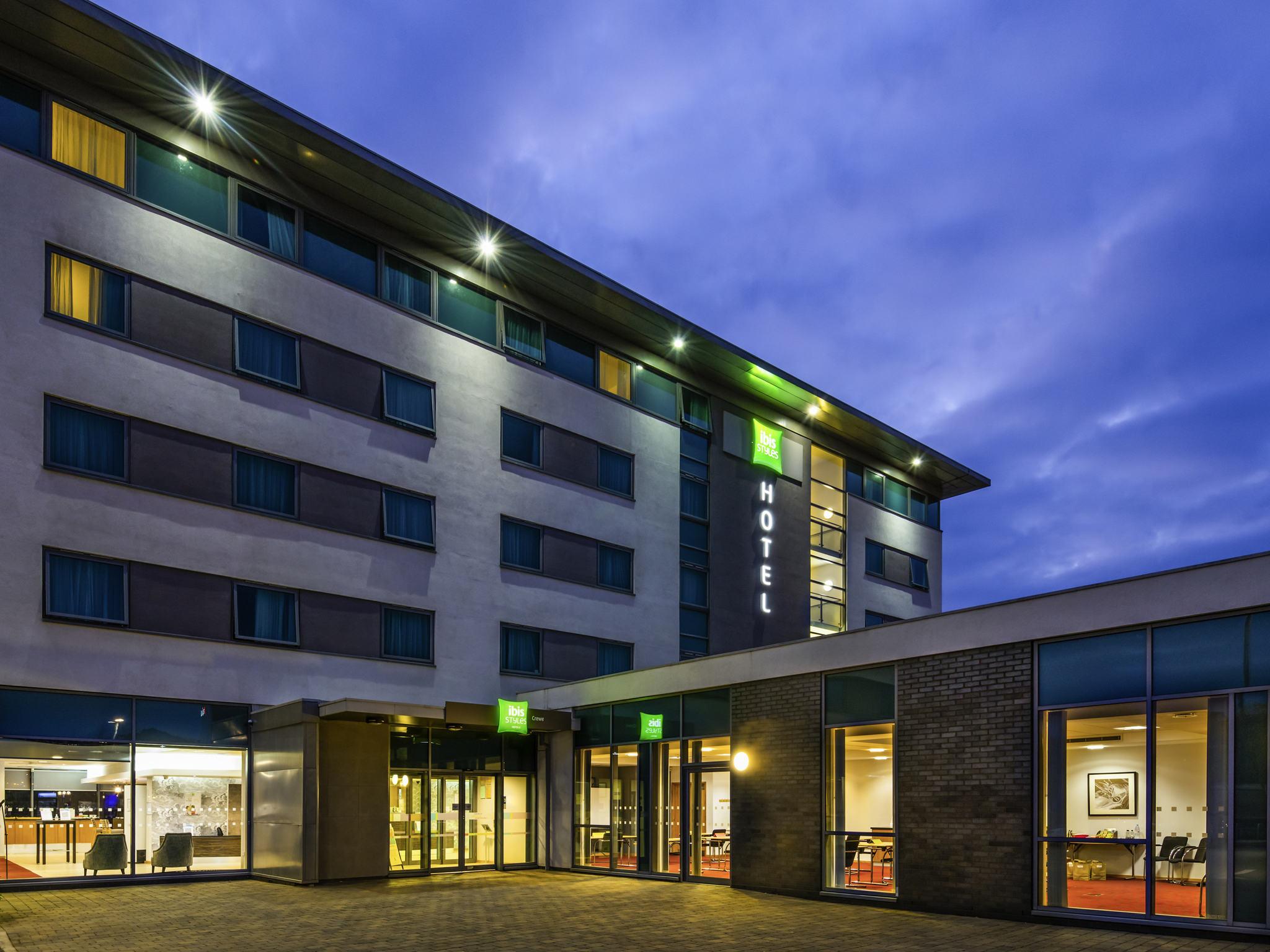 Hotell – ibis Styles Crewe