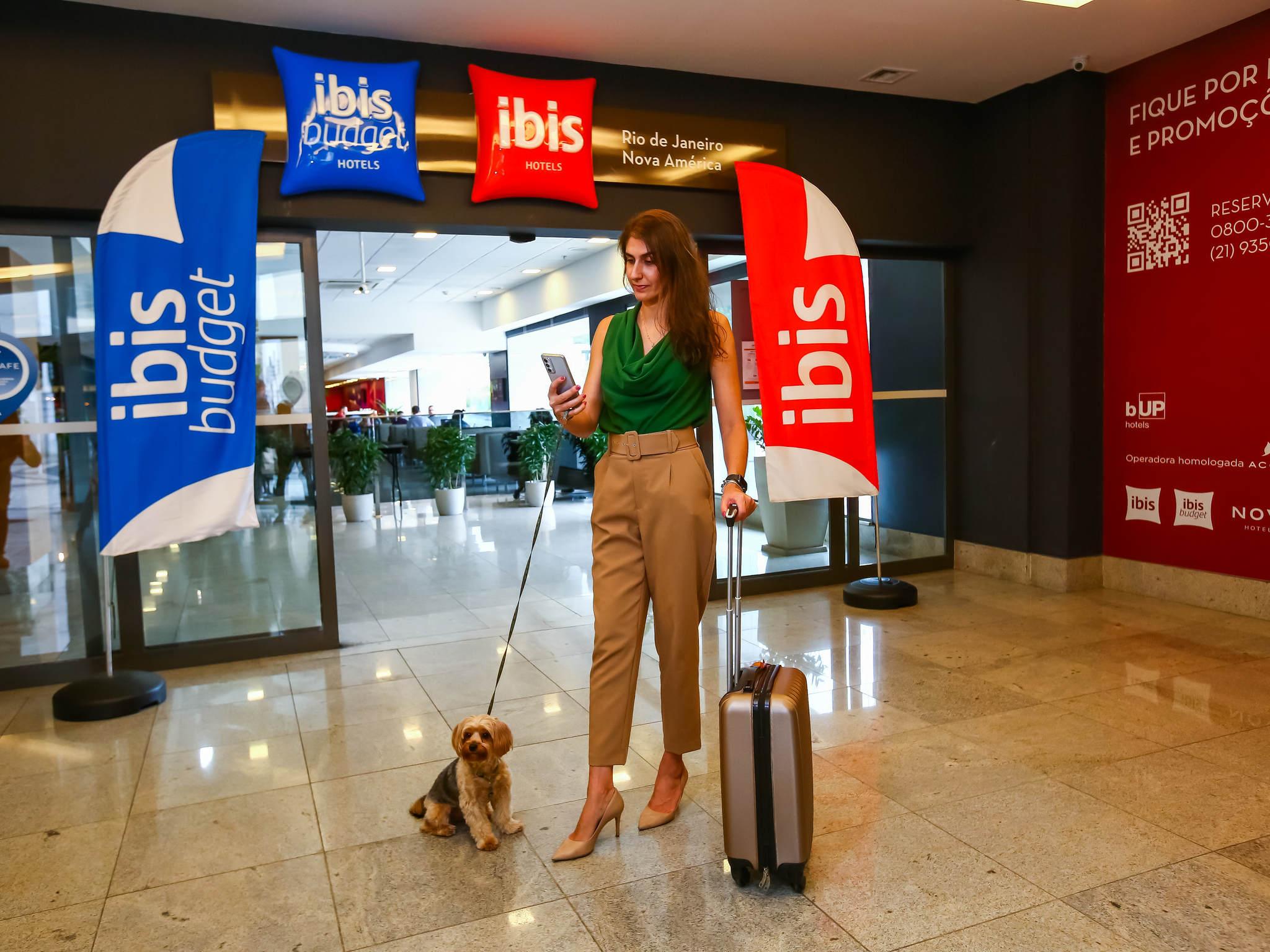Hotell – ibis budget Rio de Janeiro Nova America