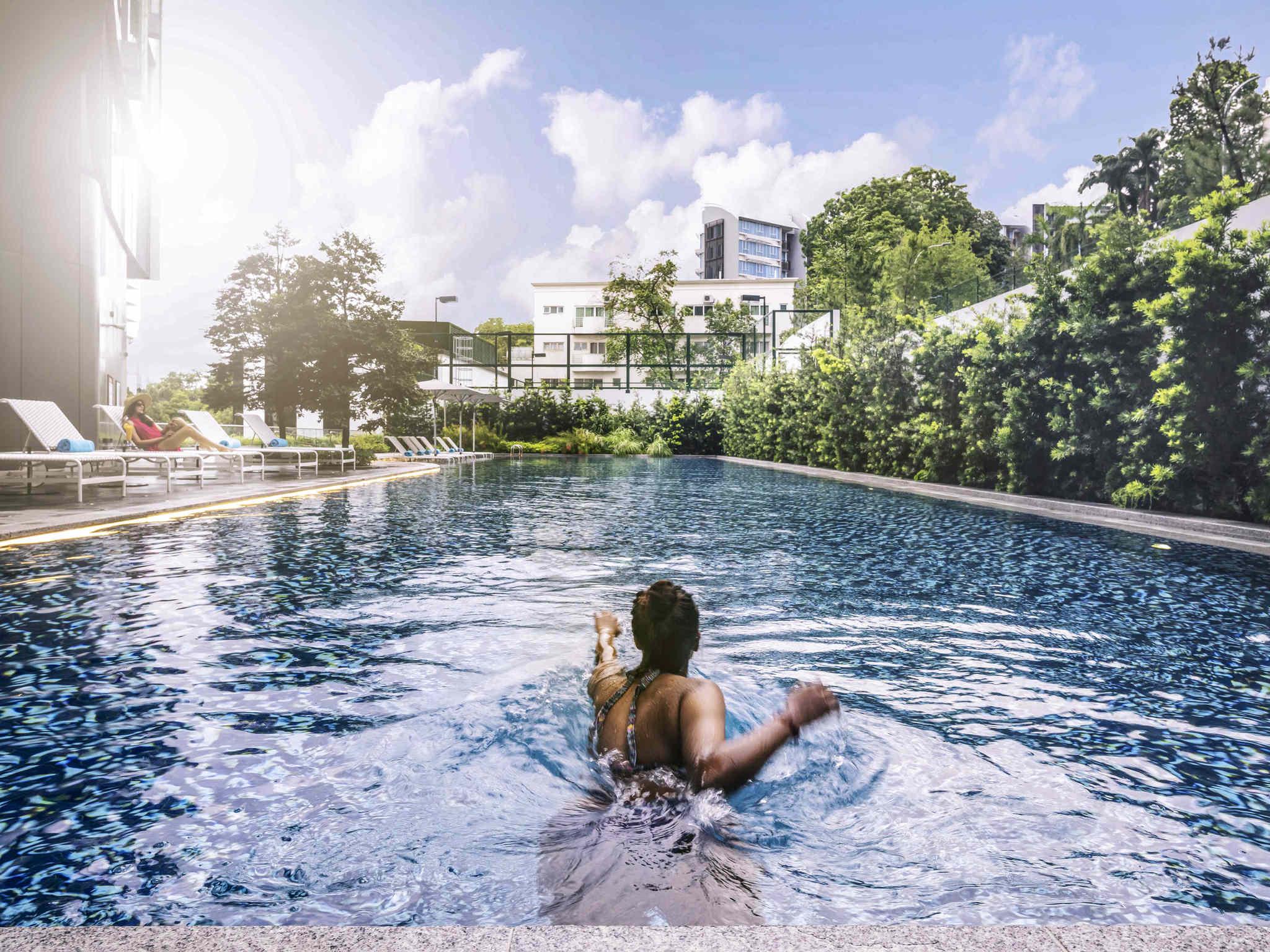 Отель — Mercure Сингапур он Стивенс