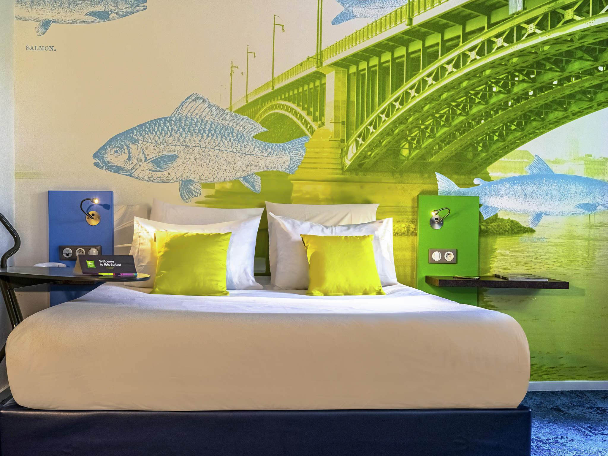 Hotel – ibis Styles Strasbourg Avenue du Rhin