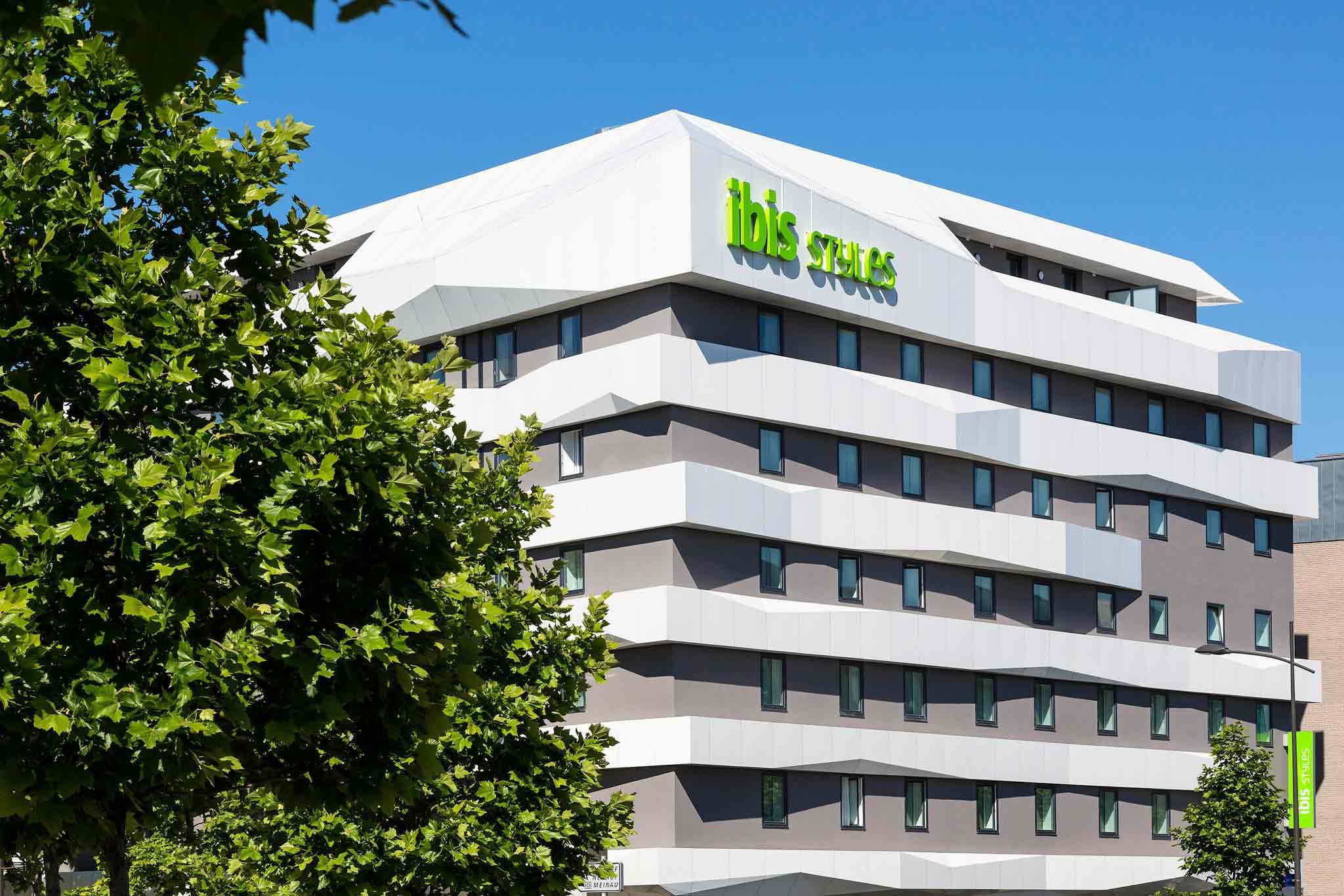 ... Hotel   Ibis Styles Strasbourg Avenue Du Rhin ...