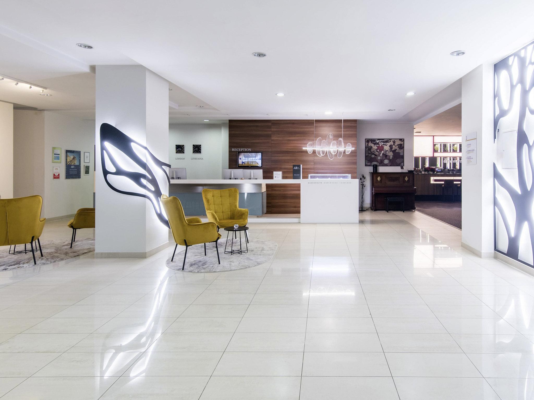 โรงแรม – Mercure Marijampole