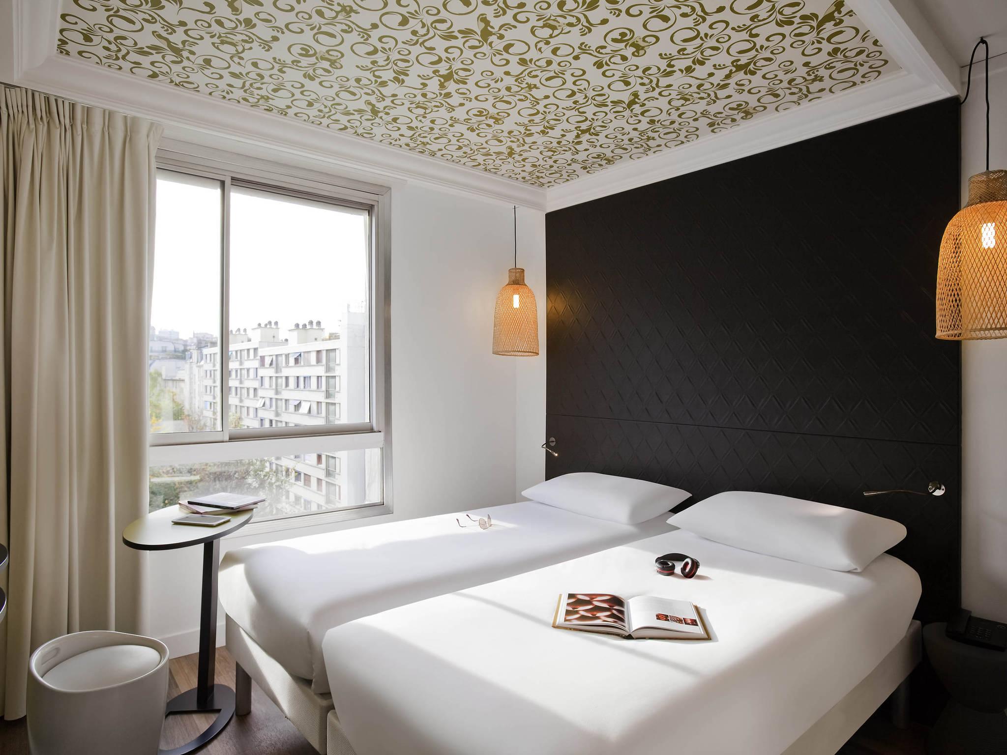 H´tel  PARIS ibis Styles Paris Buttes Chaumont