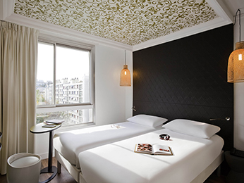Hotel pas cher paris ibis styles paris buttes chaumont for Hotel paris pas cher annulation gratuite