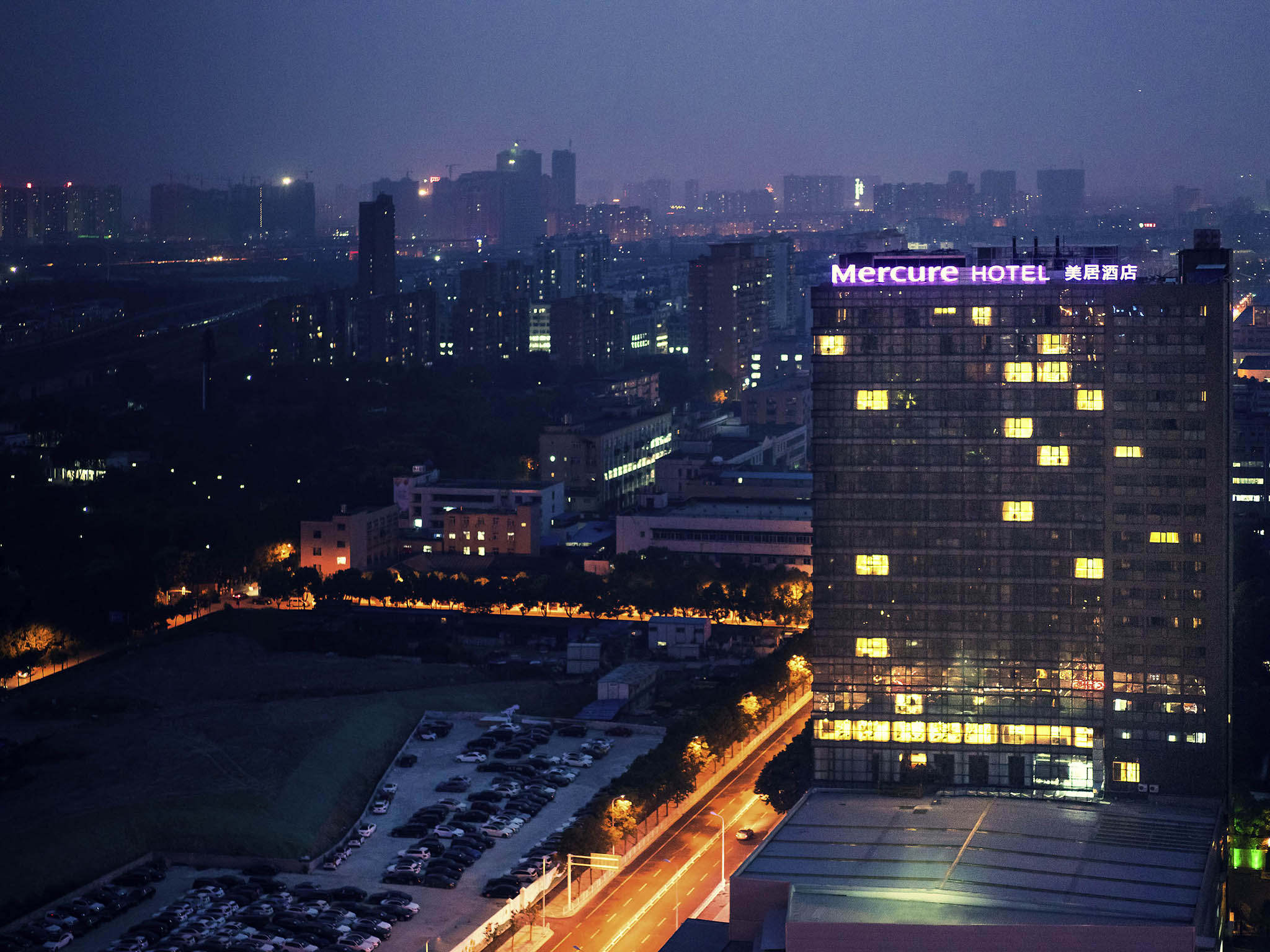 Otel – Mercure Wuhan Changqing Park
