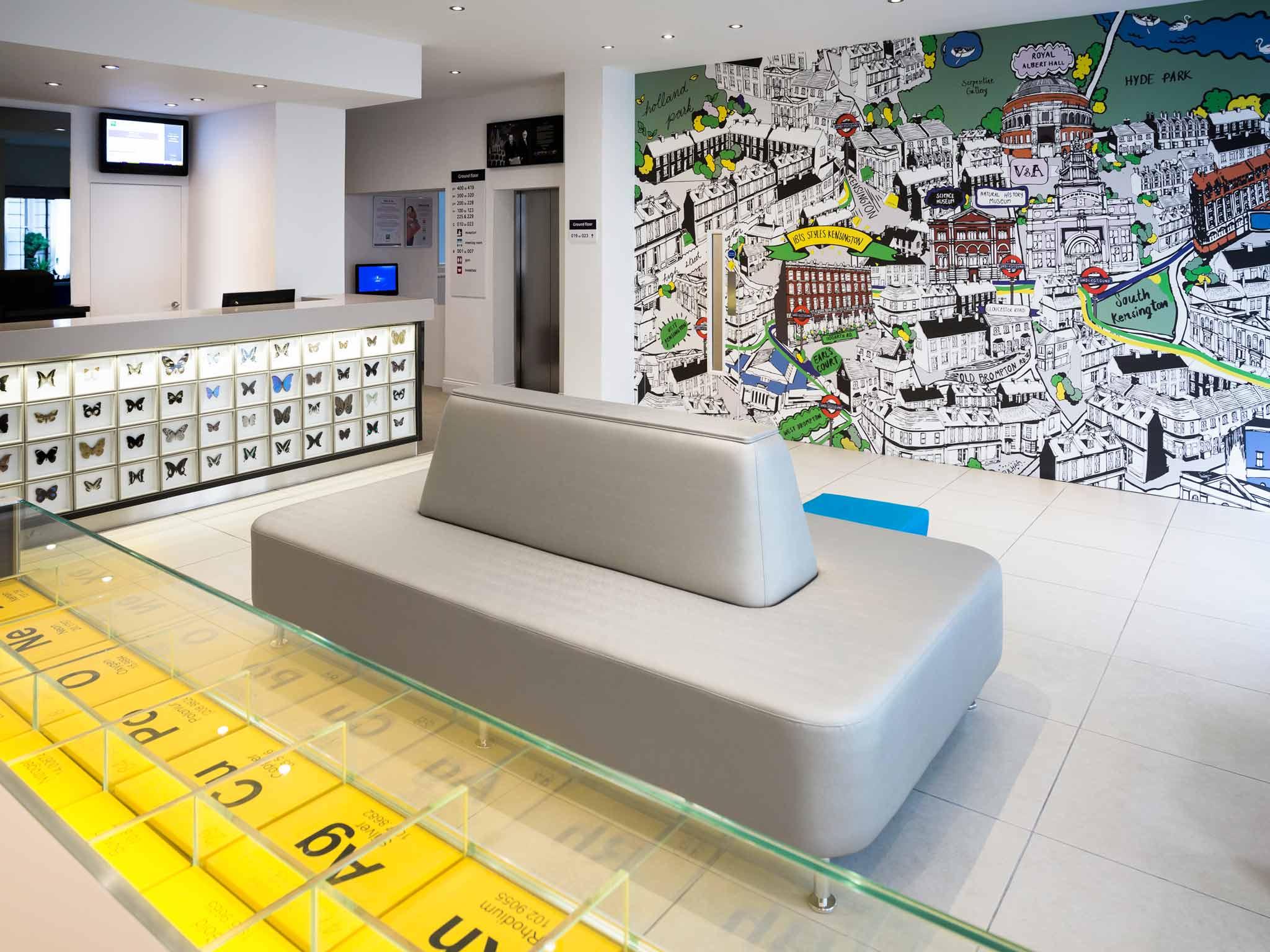 Great hotel ibis styles london kensington with chambre - Style de chambre pour fille ...