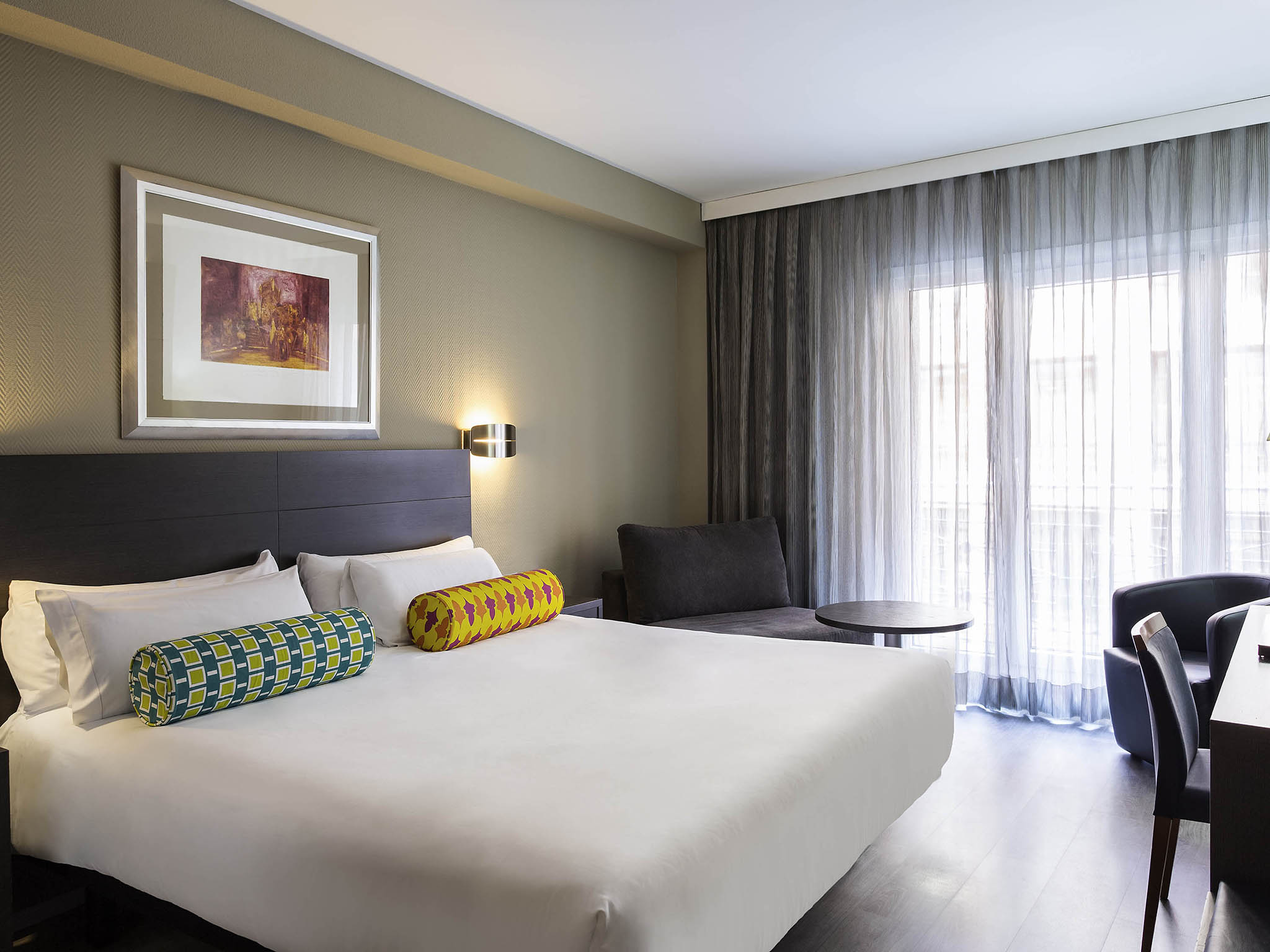 Отель — Mercure Мадрид Центр