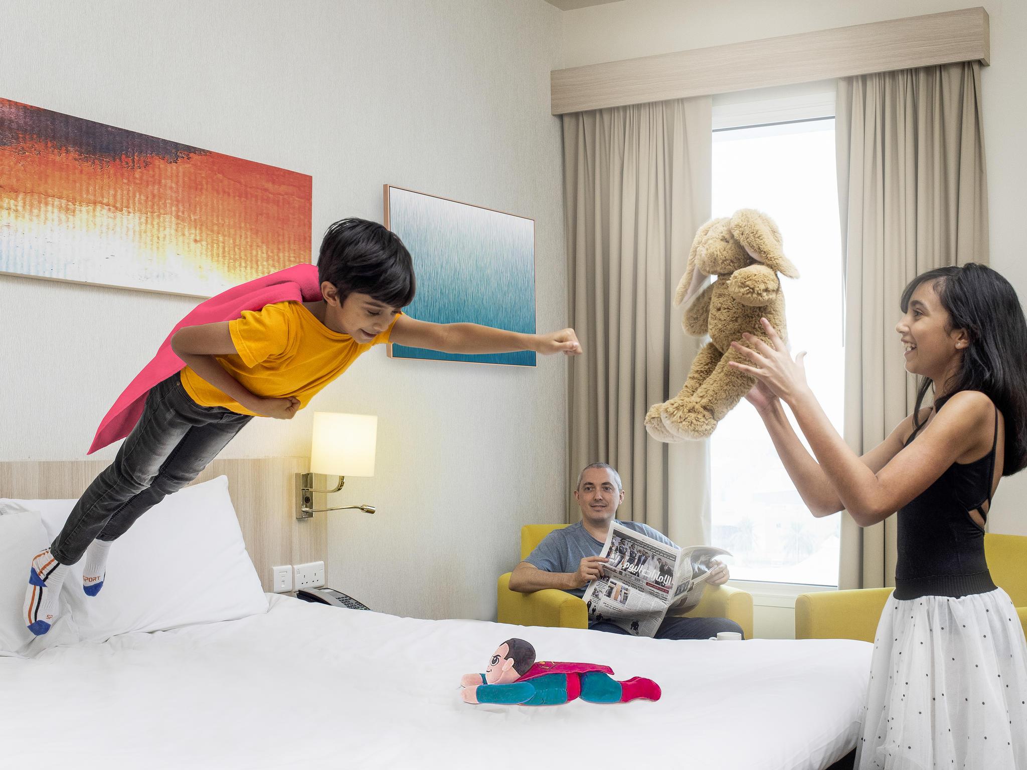 酒店 – 宜必思尚品迪拜龙城酒店