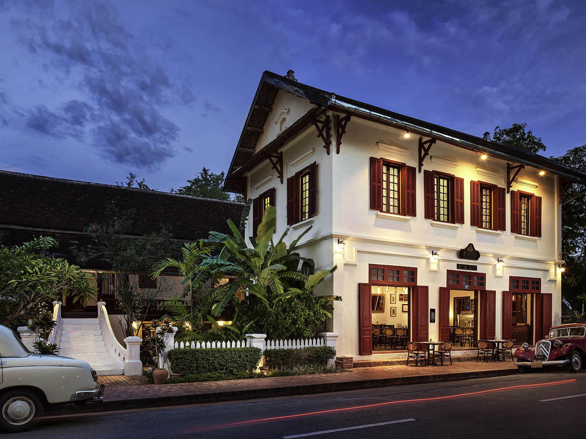Отель — 3 Nagas Luang Prabang - MGallery by Sofitel