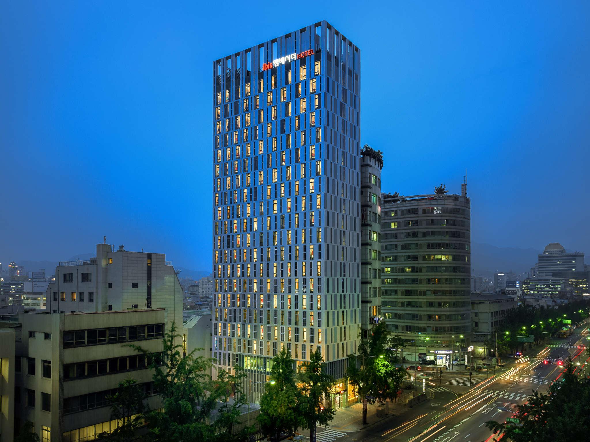 โรงแรม – ไอบิส แอมบาสเดอร์ โซล ทงแดมุน