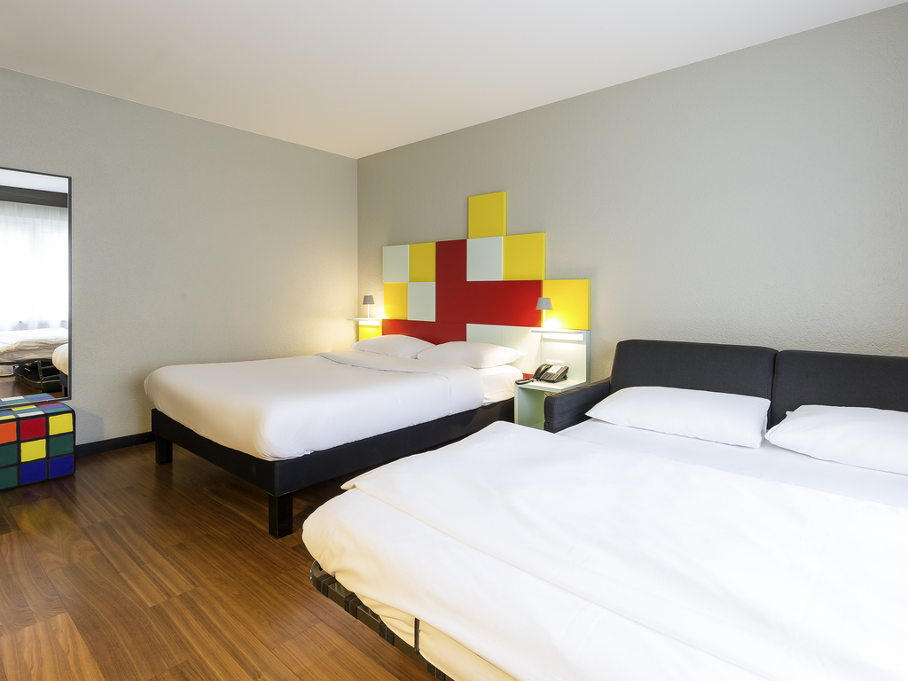 Hotel in bern ibis styles bern city for Sofa bed 160 x 200