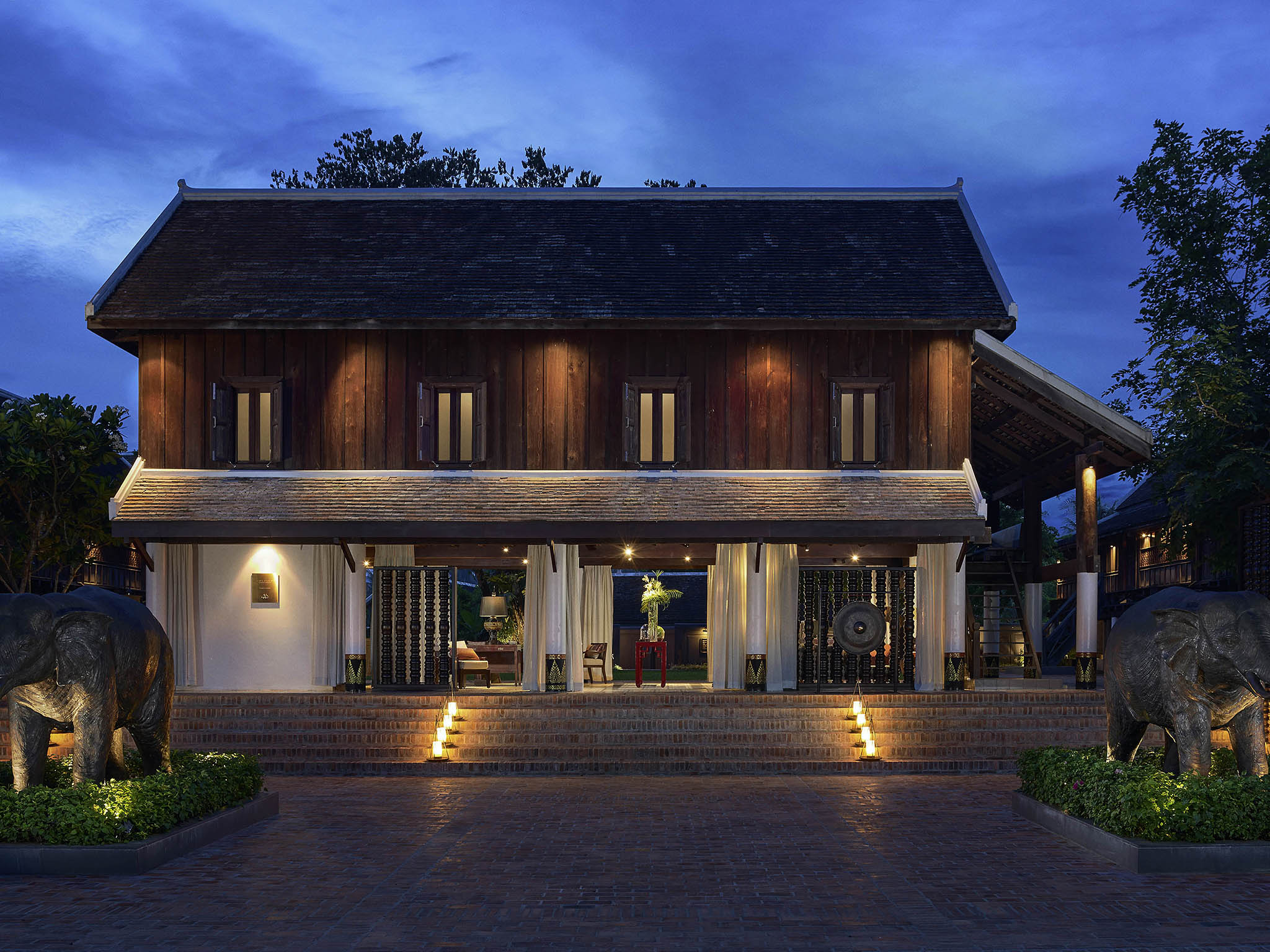 Hôtel - Sofitel Luang Prabang